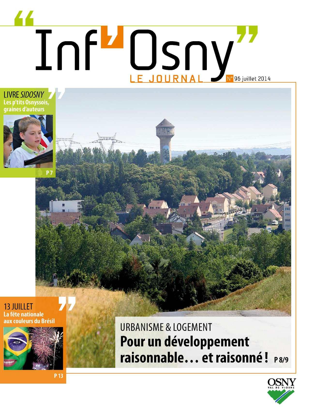 Inf'Osny n°96 - Juil 2014