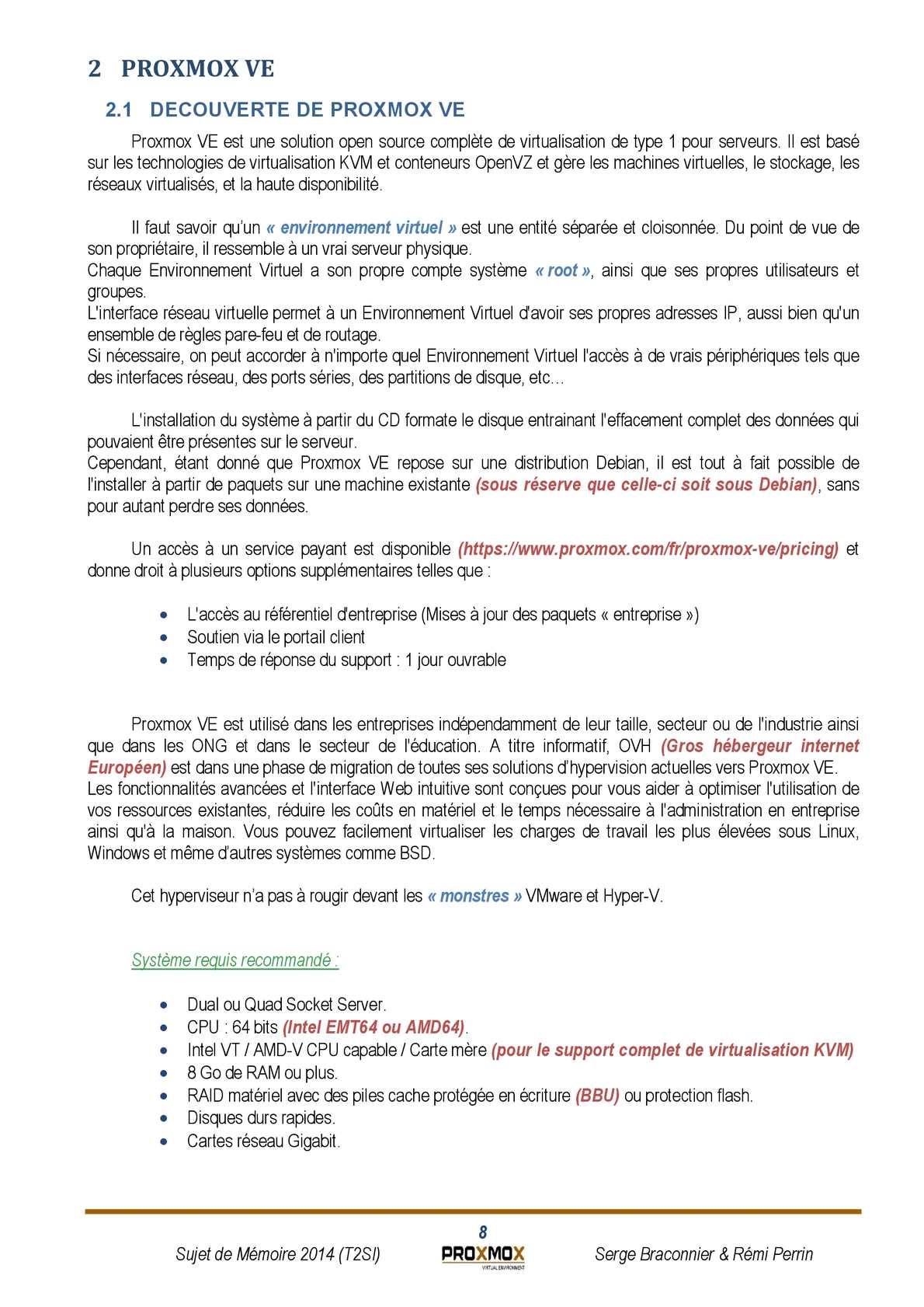 Mémoire : Proxmox VE - CALAMEO Downloader