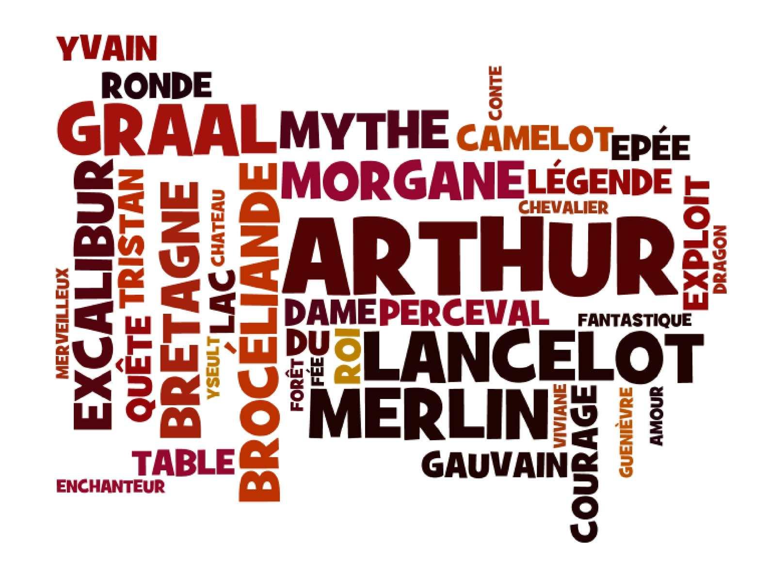 Calam o contes et l gendes des chevaliers de la table - La table ronde du roi arthur ...