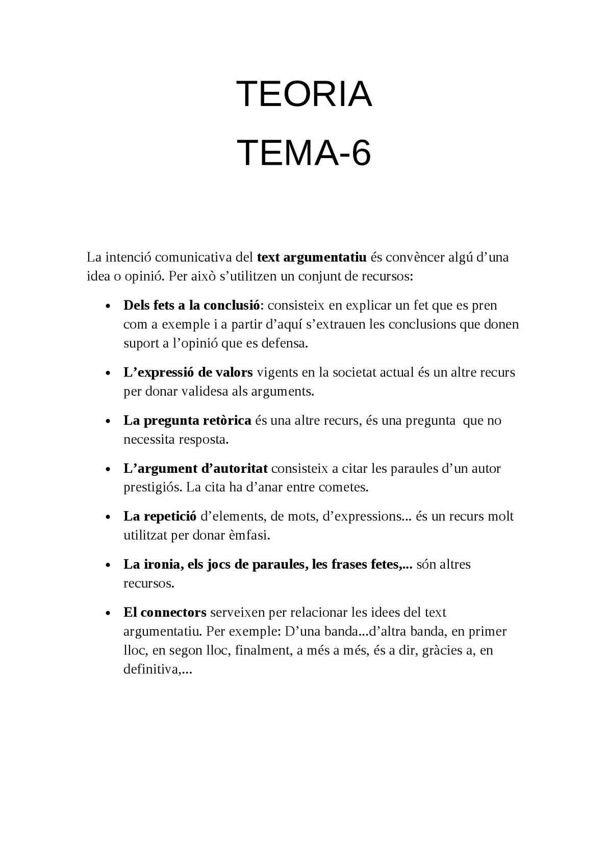 Calaméo Teoria T6 Català