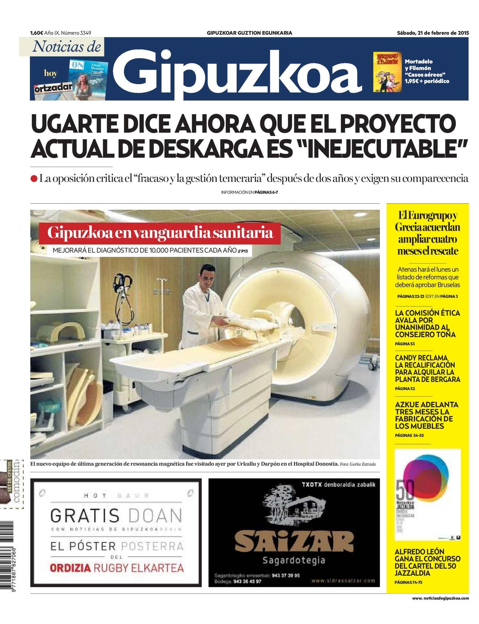 6f8dcdf6798 Calaméo - Noticias de Gipuzkoa 20150221