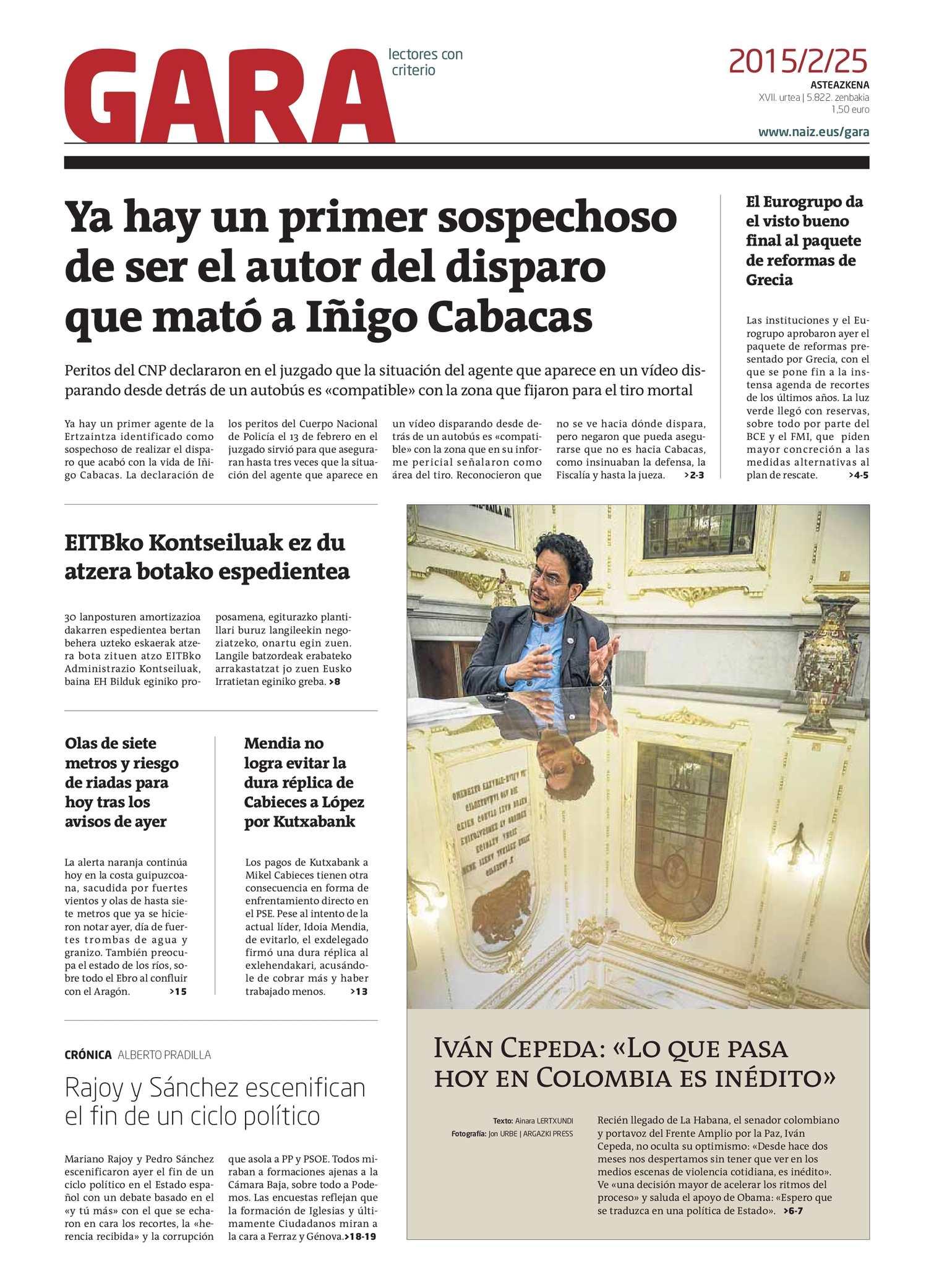 Calaméo Gara 20150225