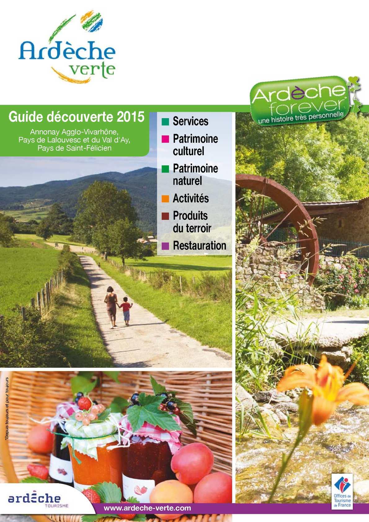 Calaméo Guide Decouverte Ardèche Verte 2015