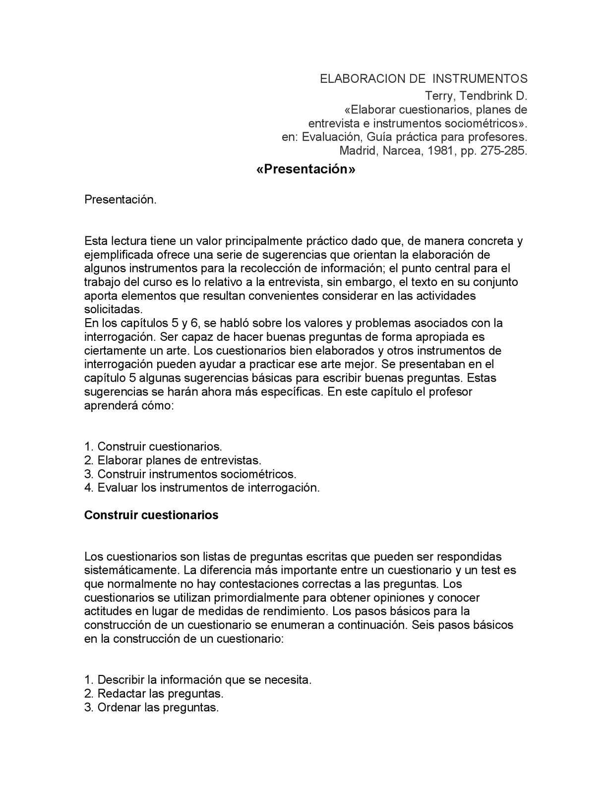 Calaméo 00 Elaboracion De Cuestionarios Entrevistas E Instrumentos