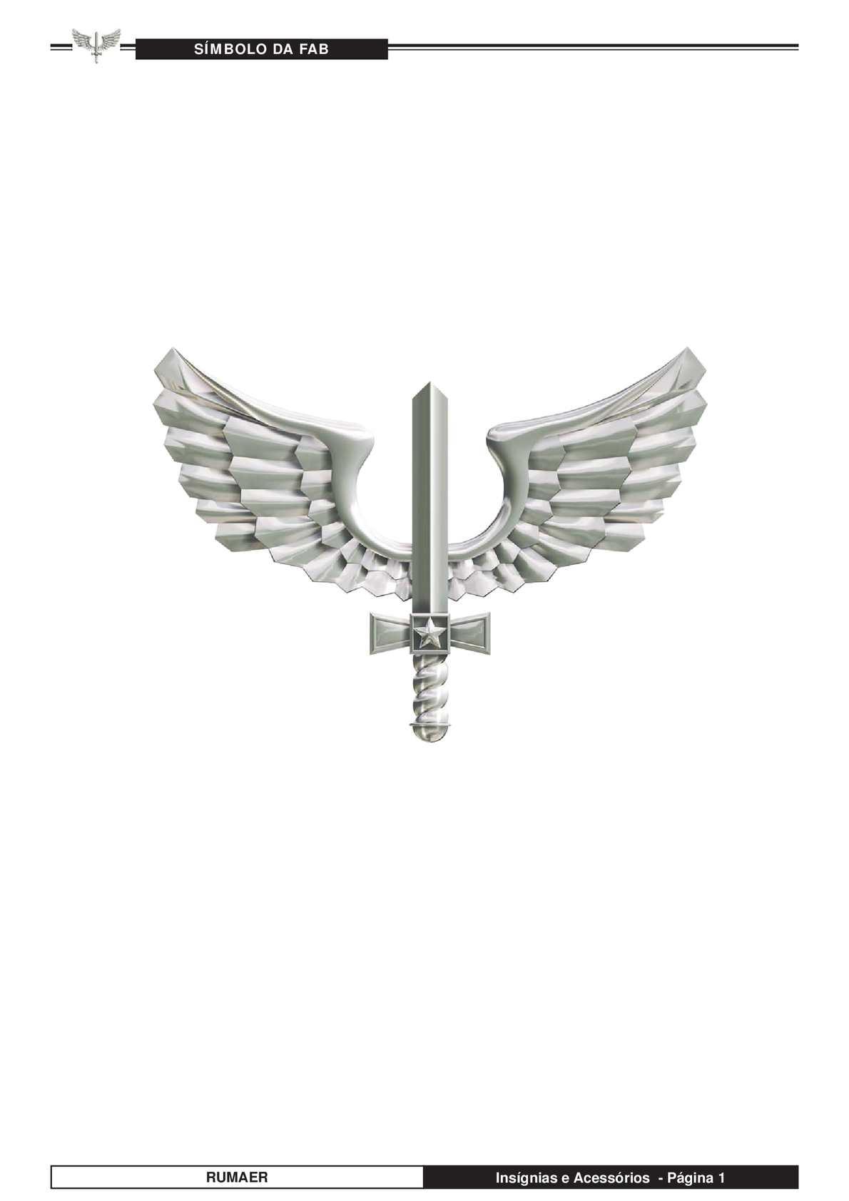 f033d145a0665 Calaméo - Insígnias E Acessórios Força Aérea Brasileira