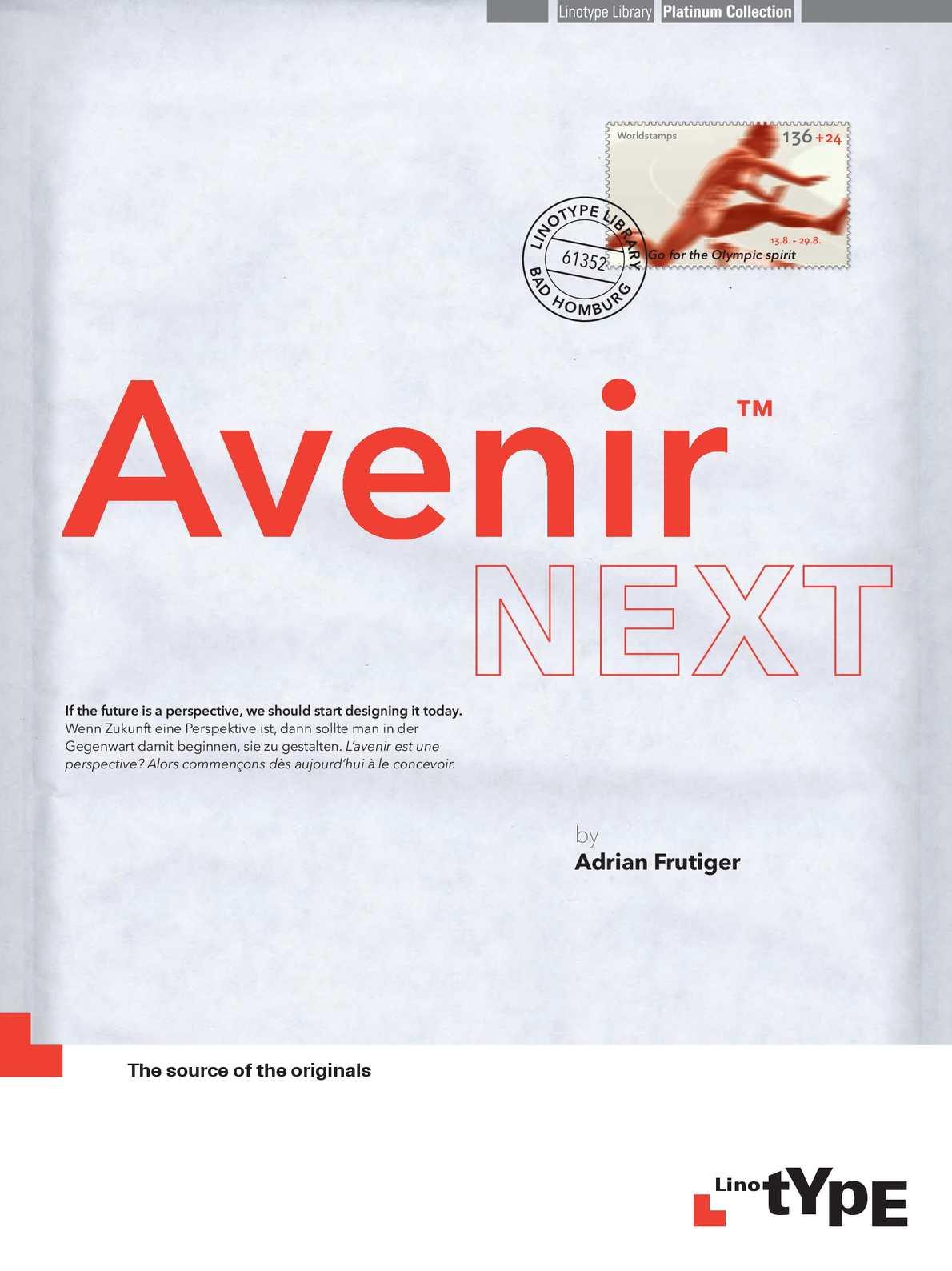 Calaméo - Avenir Next Brochure