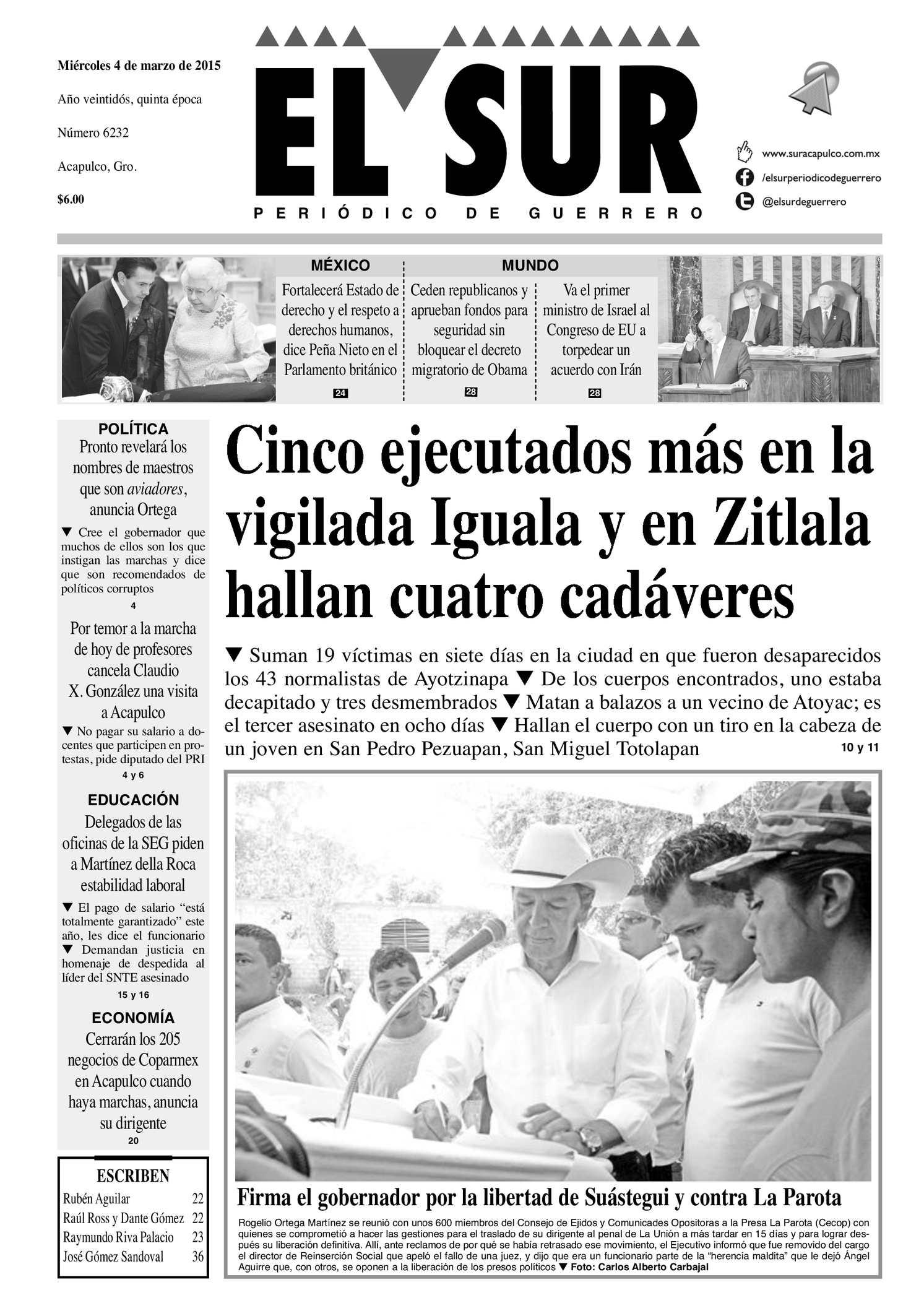 Calaméo - El Sur Miercoles 04032015 43c77dd9fe6