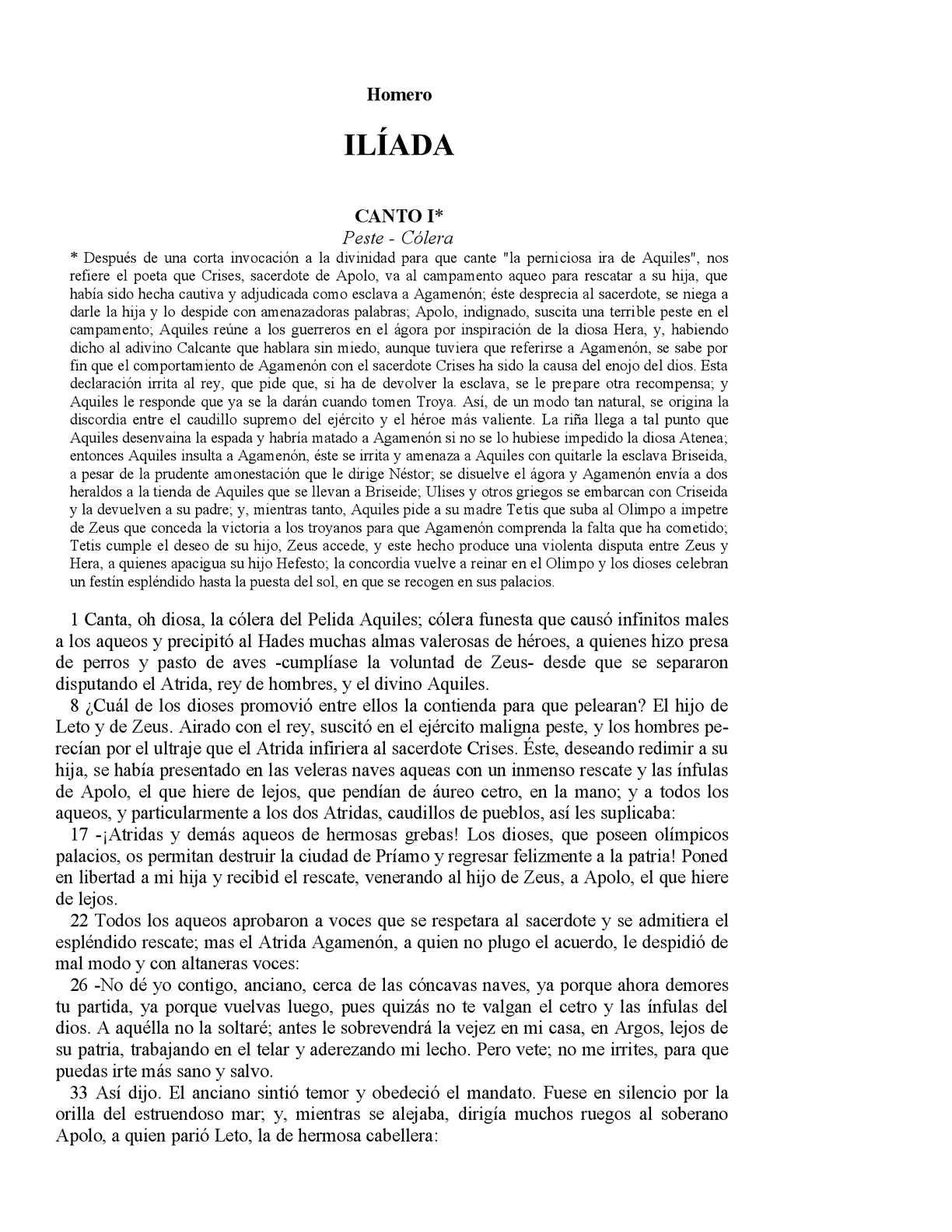 Calaméo - Homero Ilíada