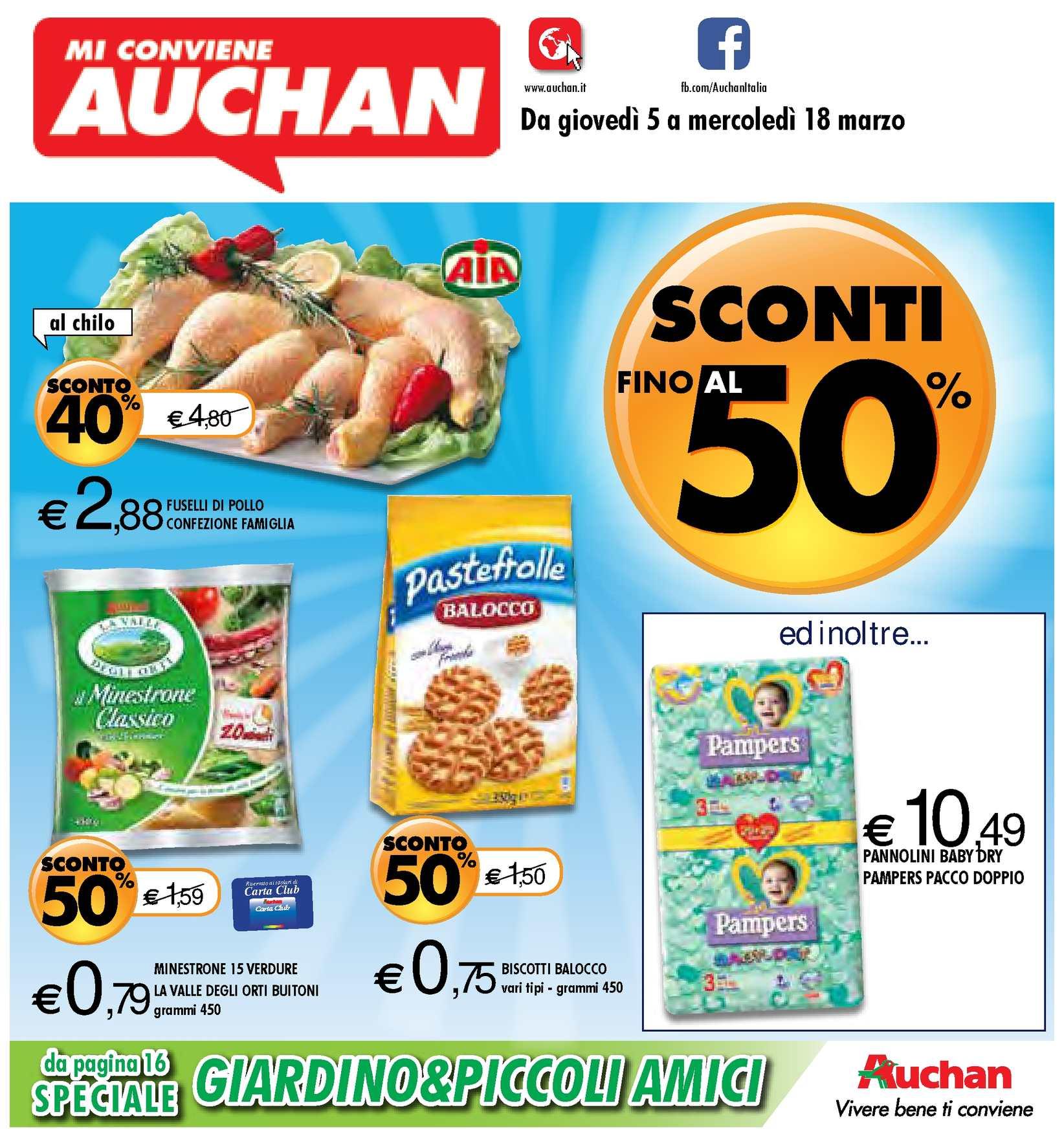 Offerte Tavoli Da Giardino Auchan.Calameo Volantino Auchan Calabria Dal 5 Al 19 Marzo