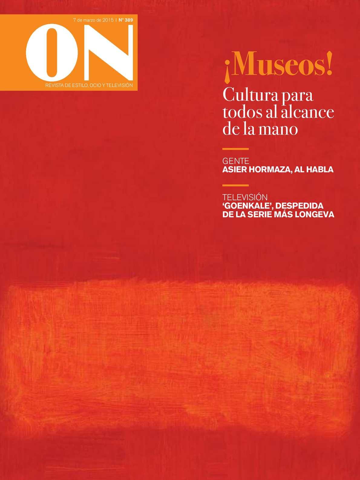 20150307 De Estilo On Ocio Calaméo Revista Y pqSUGVzM