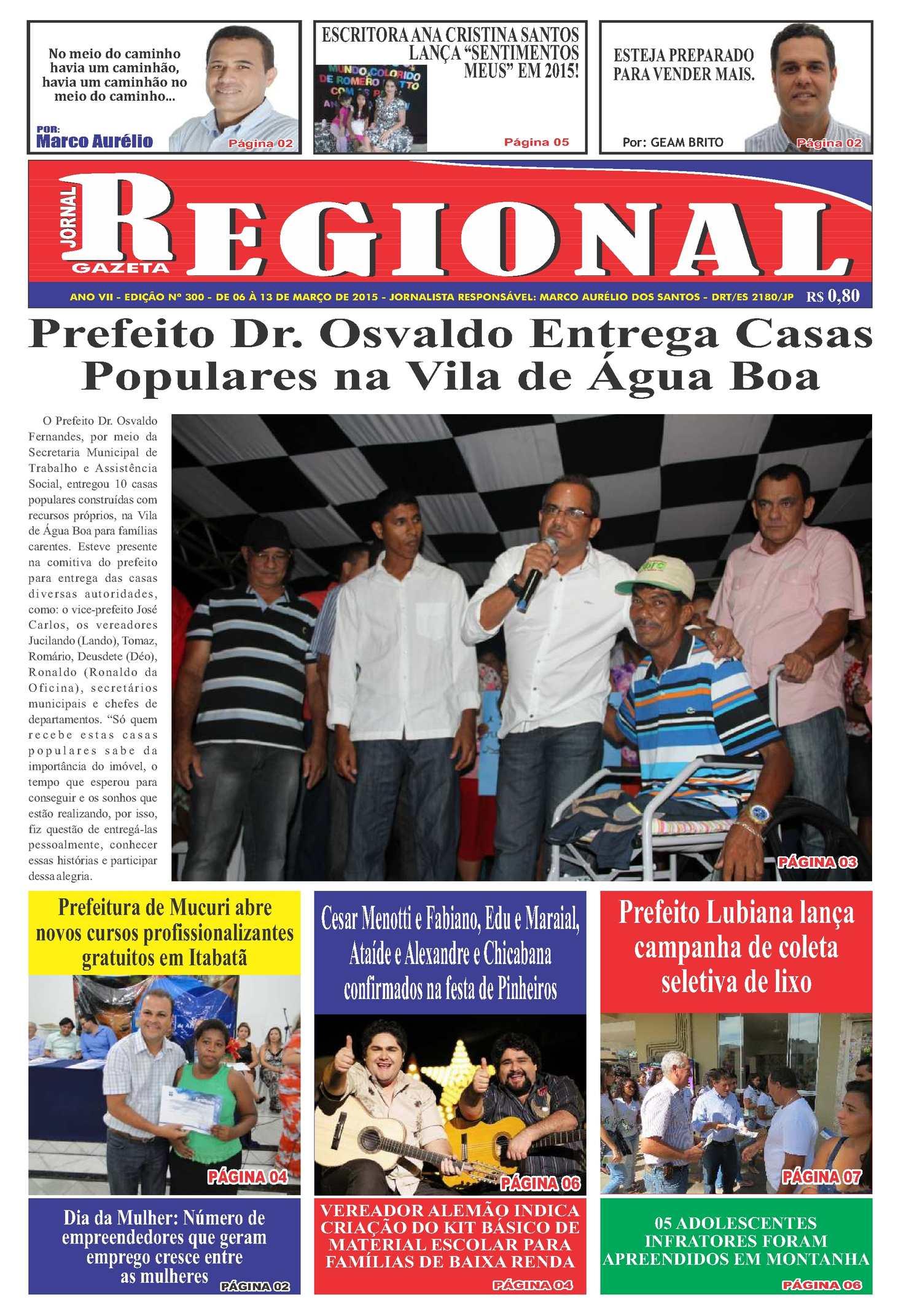 ab3070ec2764f Calaméo - Jornal Gazeta Regional