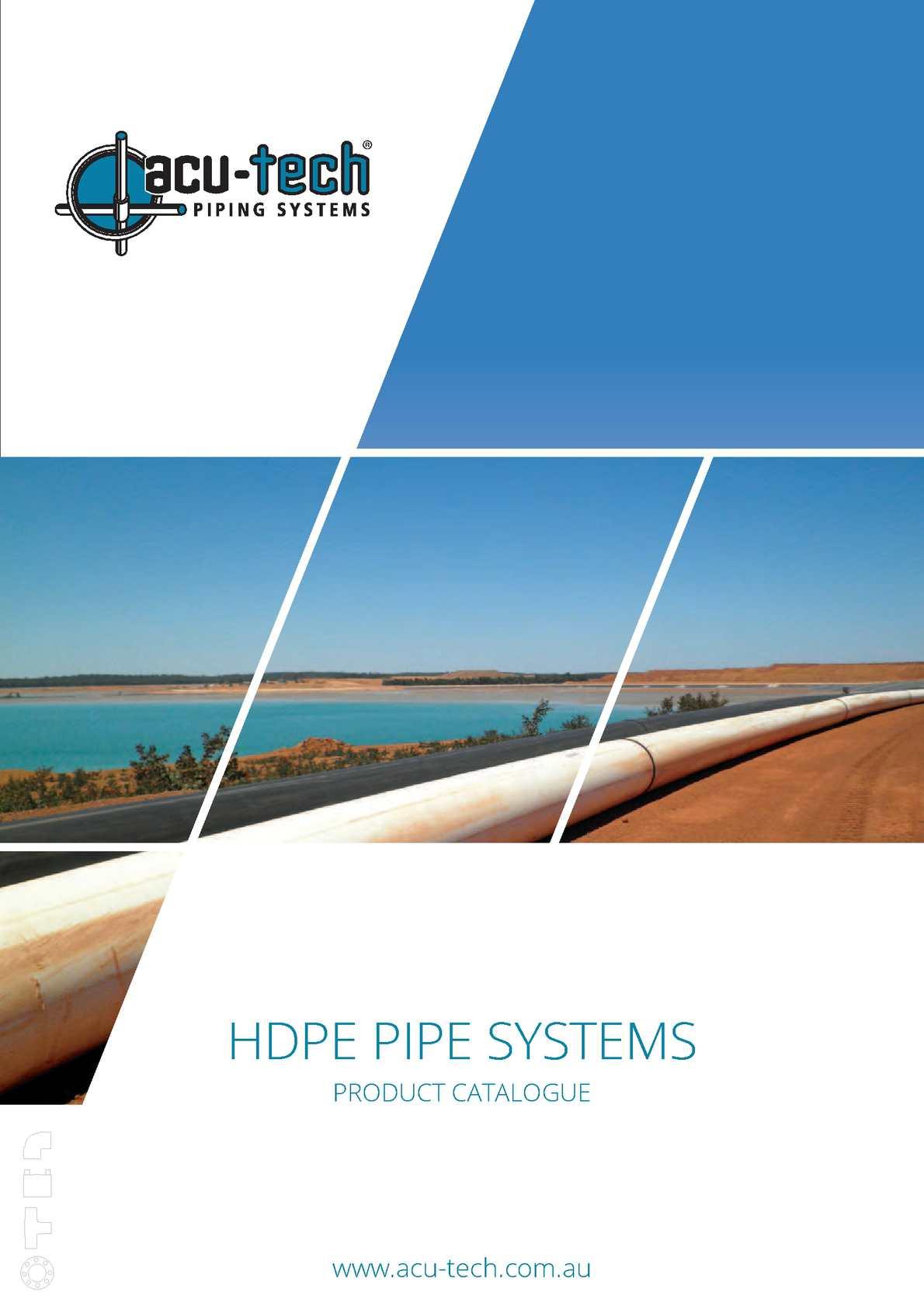 Calaméo - Acu-Tech HDPE Pipe Systems