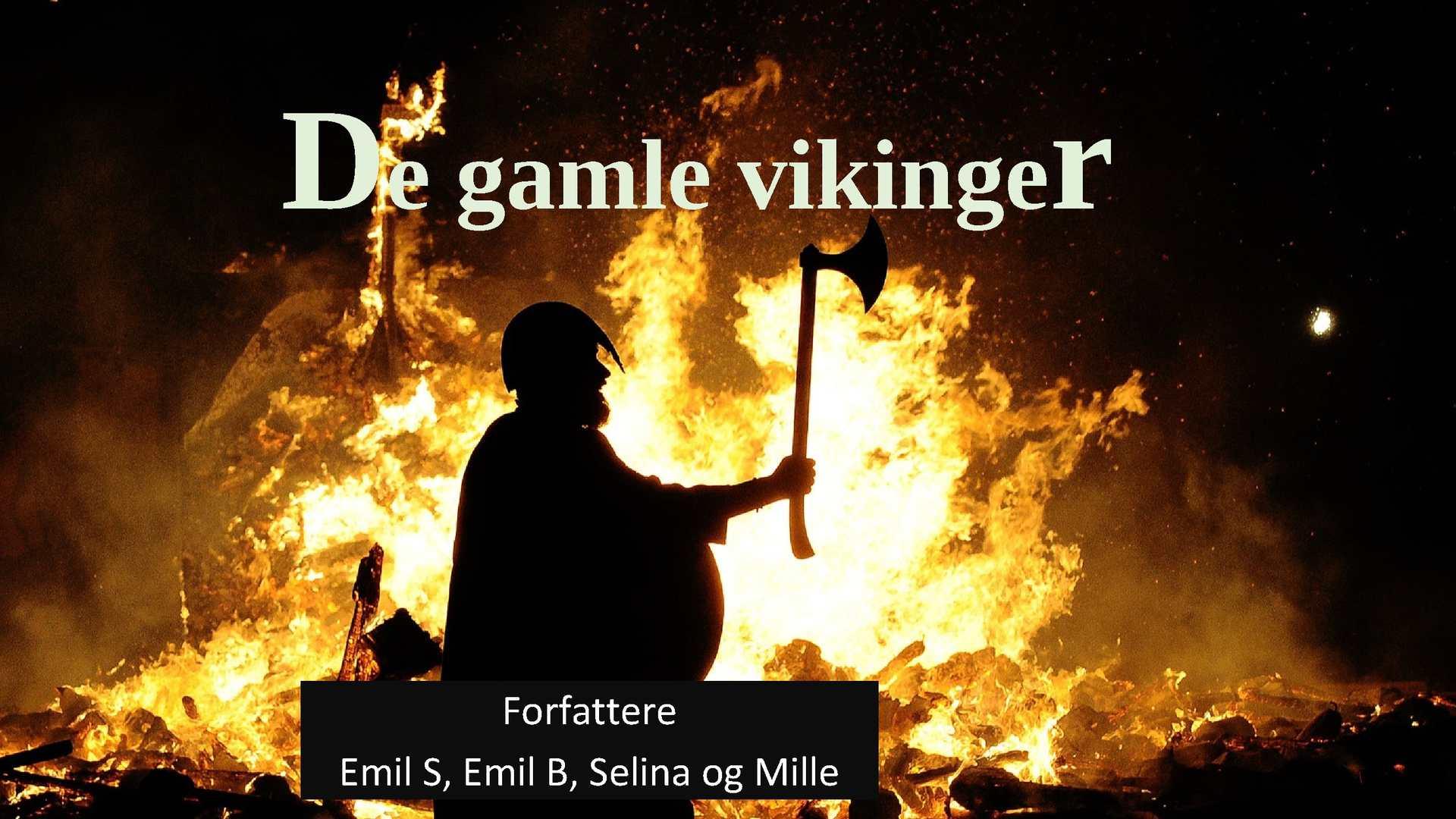 Calaméo - De gamle vikinger