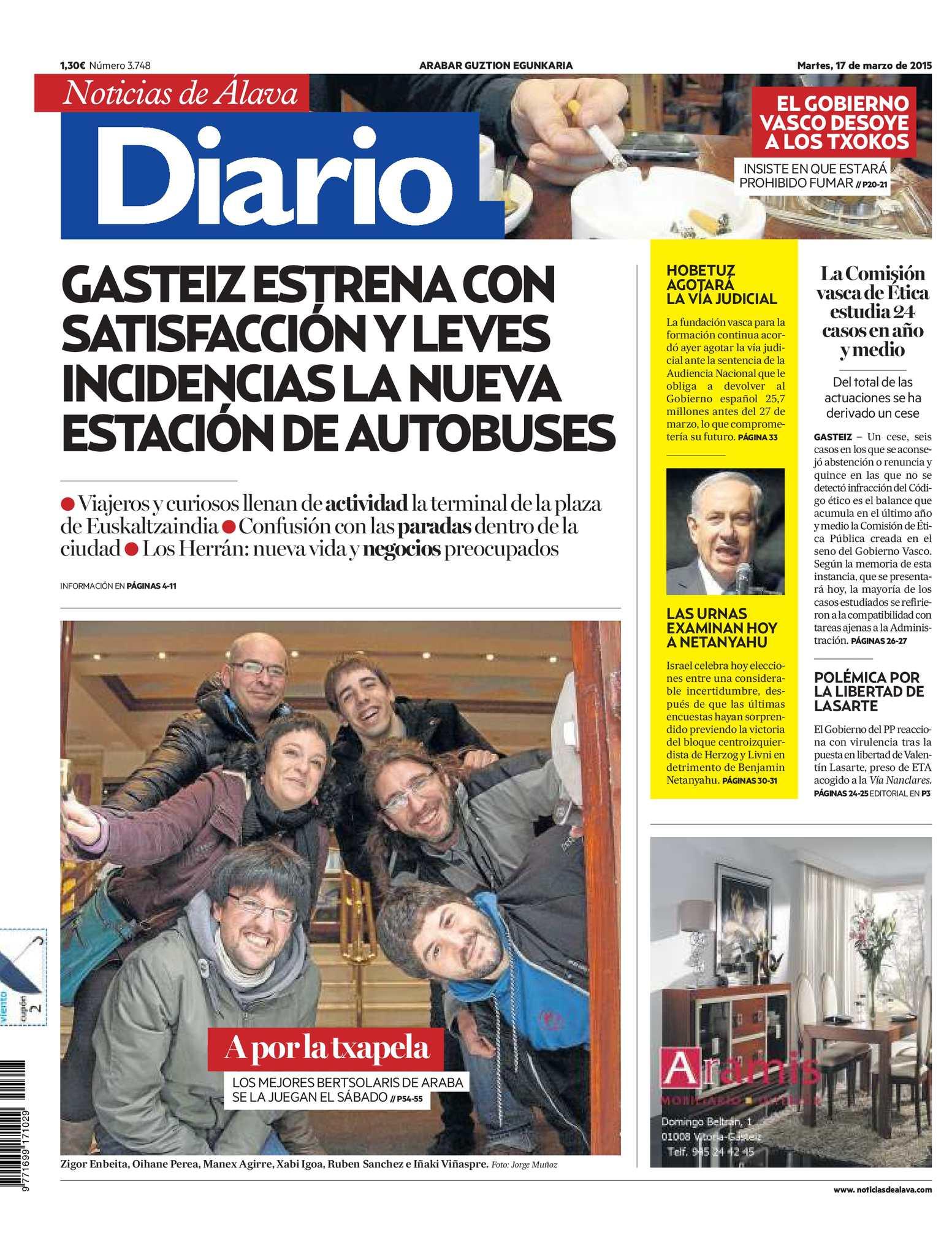 7c0dd760e8 Calaméo - Diario de Noticias de Álava 20150317