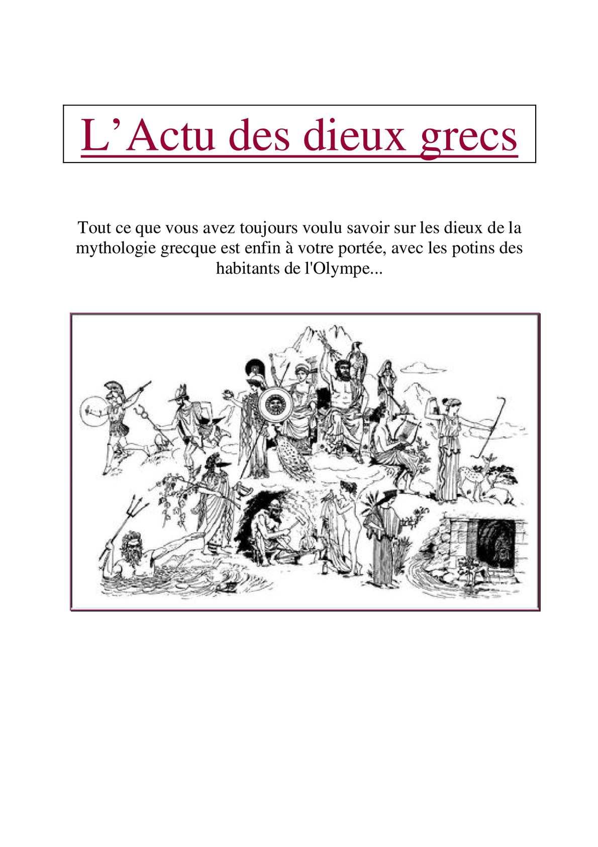 Grecs Des L'actu Dieux Calaméo L'actu Des Calaméo yv8nOPwmN0