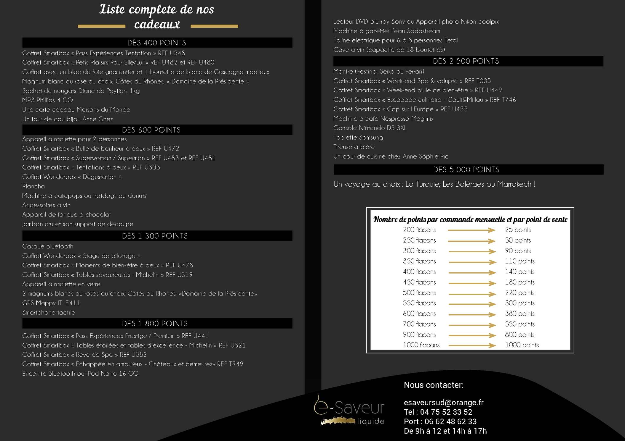 Calameo Liste Cadeaux Animation E Saveur