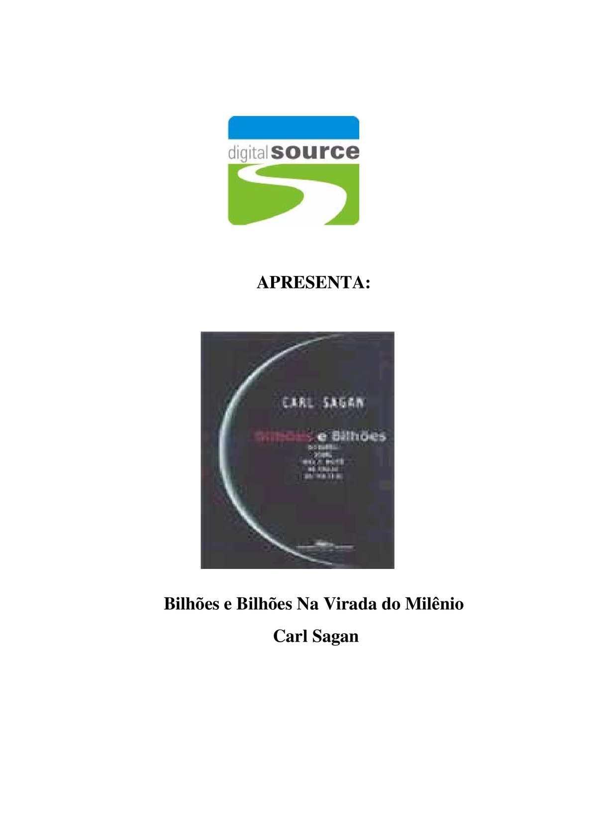f9f185c69 Calaméo - Bilhões E Bilhões Carl Sagan