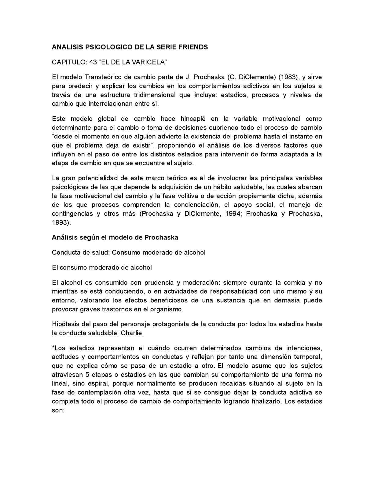 Calaméo Analisis Psicologico De La Serie Friends