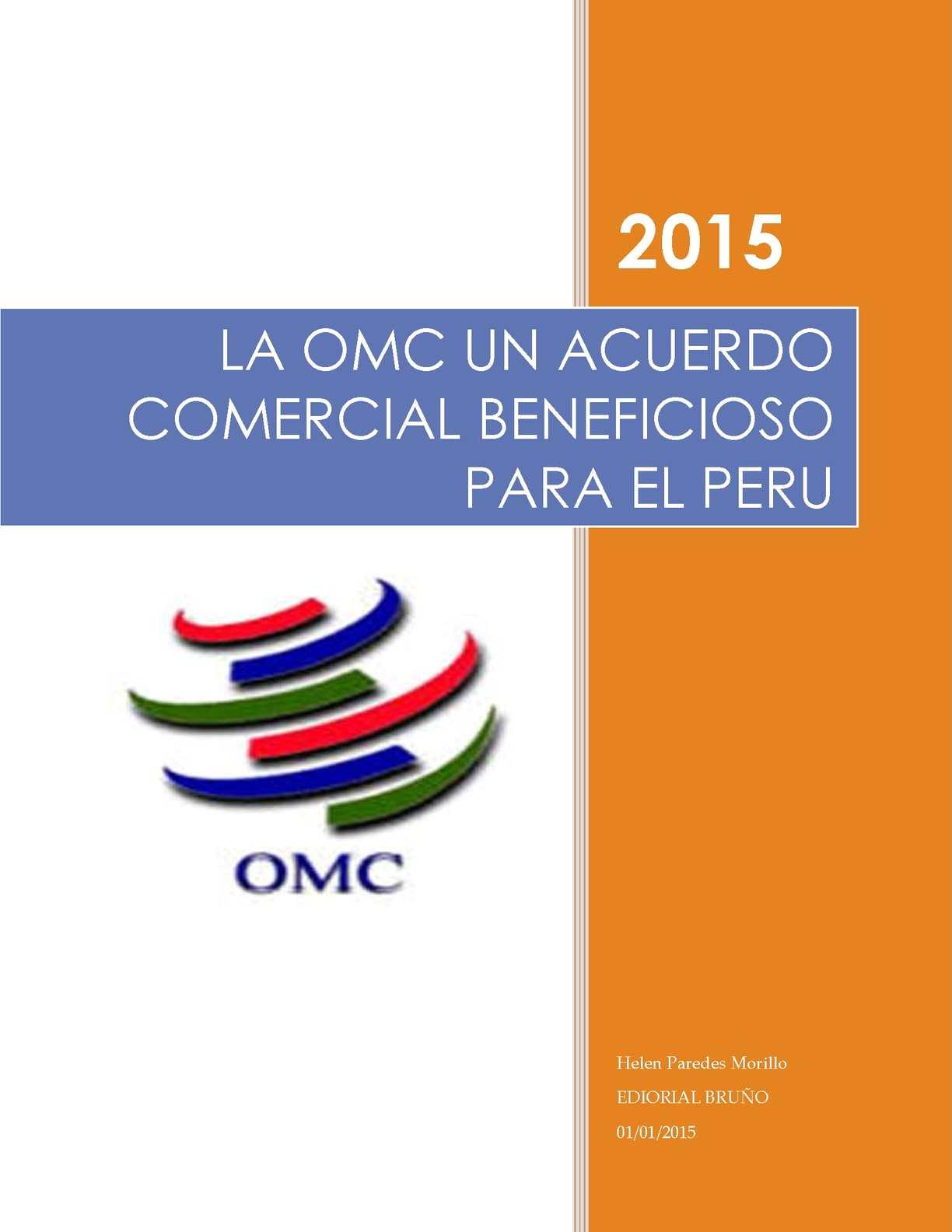 Calaméo Revista De La Influencia De La Omc En El Peru
