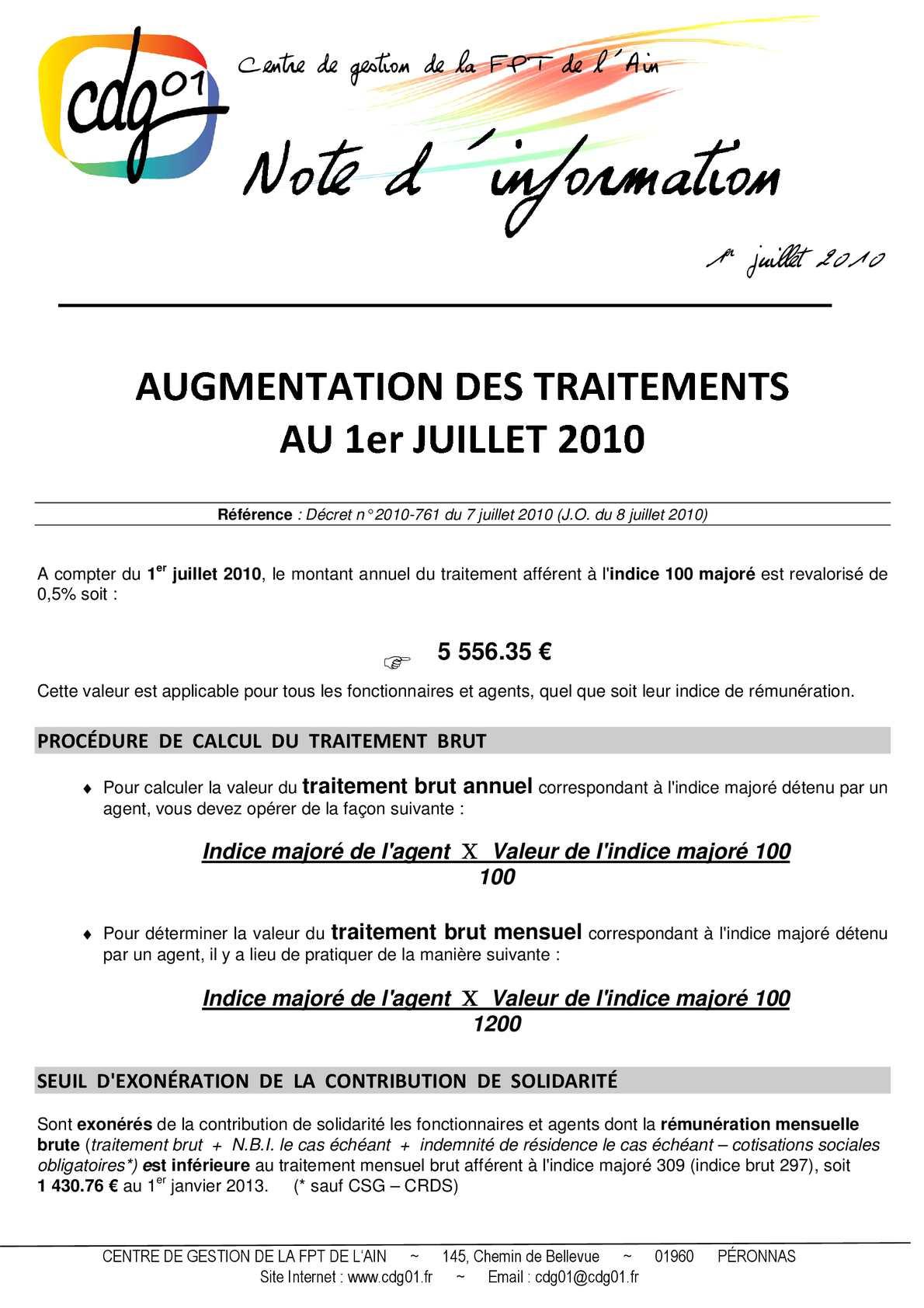Calameo 2014 01 Revalorisation Traitement Au01072010 Cdg Ain 01