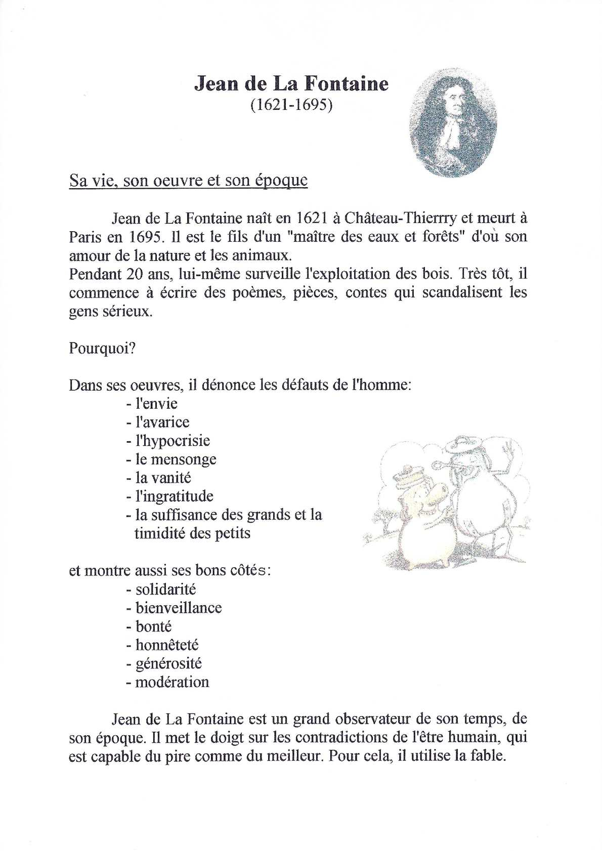 Calaméo Bibliographie Jean De La Fontaine 1995