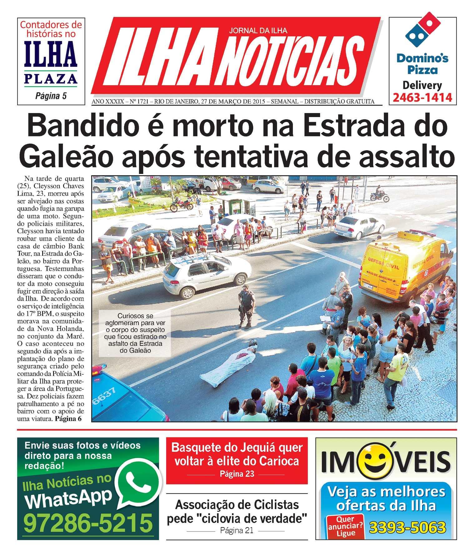 005adad71 Calaméo - Jornal Ilha Notícias - Edição 1721 - 27 3 2015