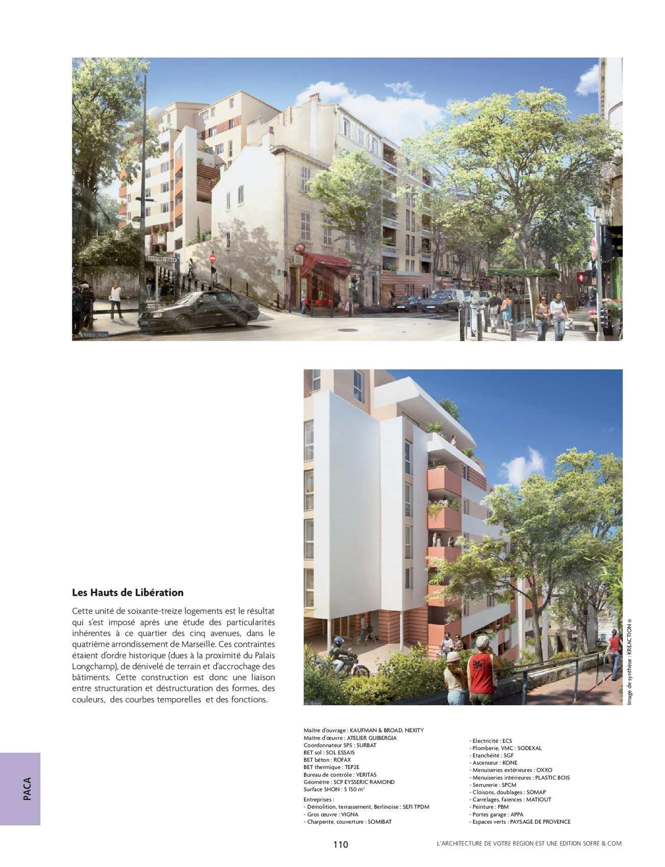 Bureau D Étude Béton Marseille l'architecture de votre region - paca - 258 - calameo downloader
