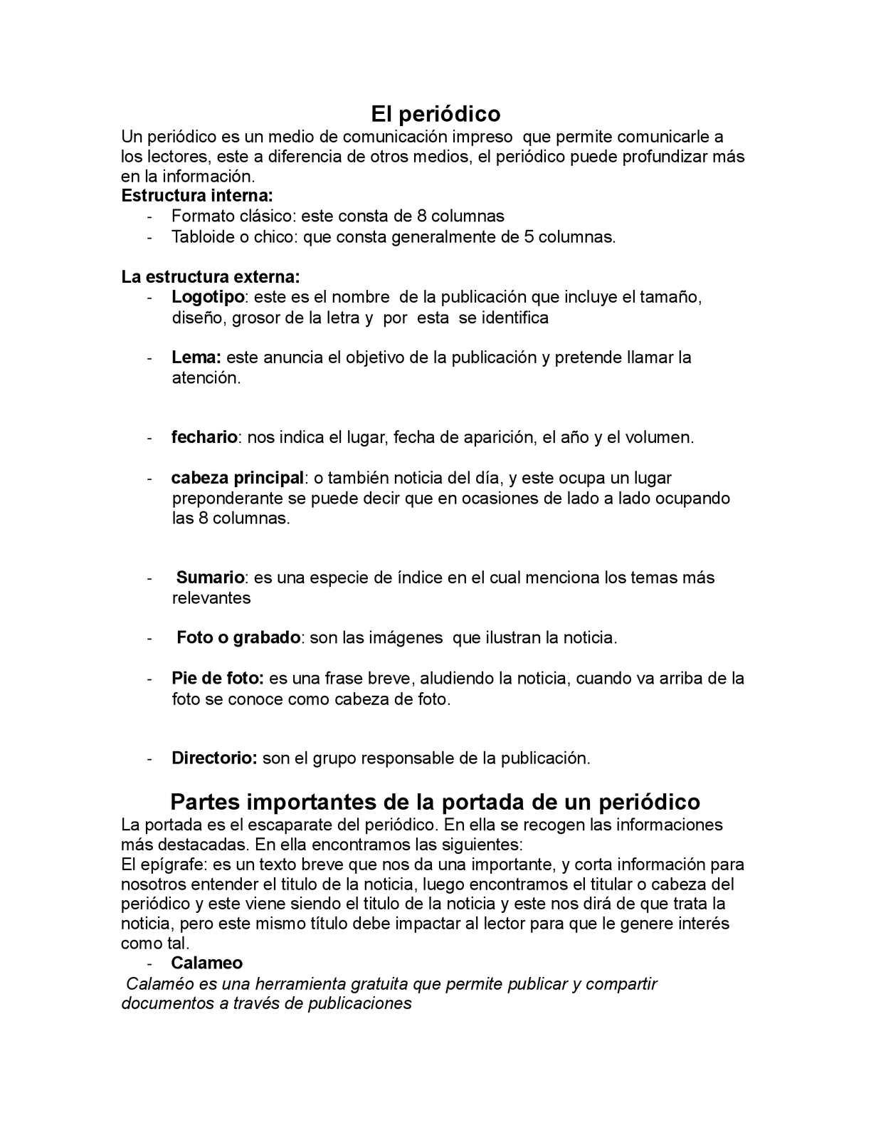 Calaméo El Periódico