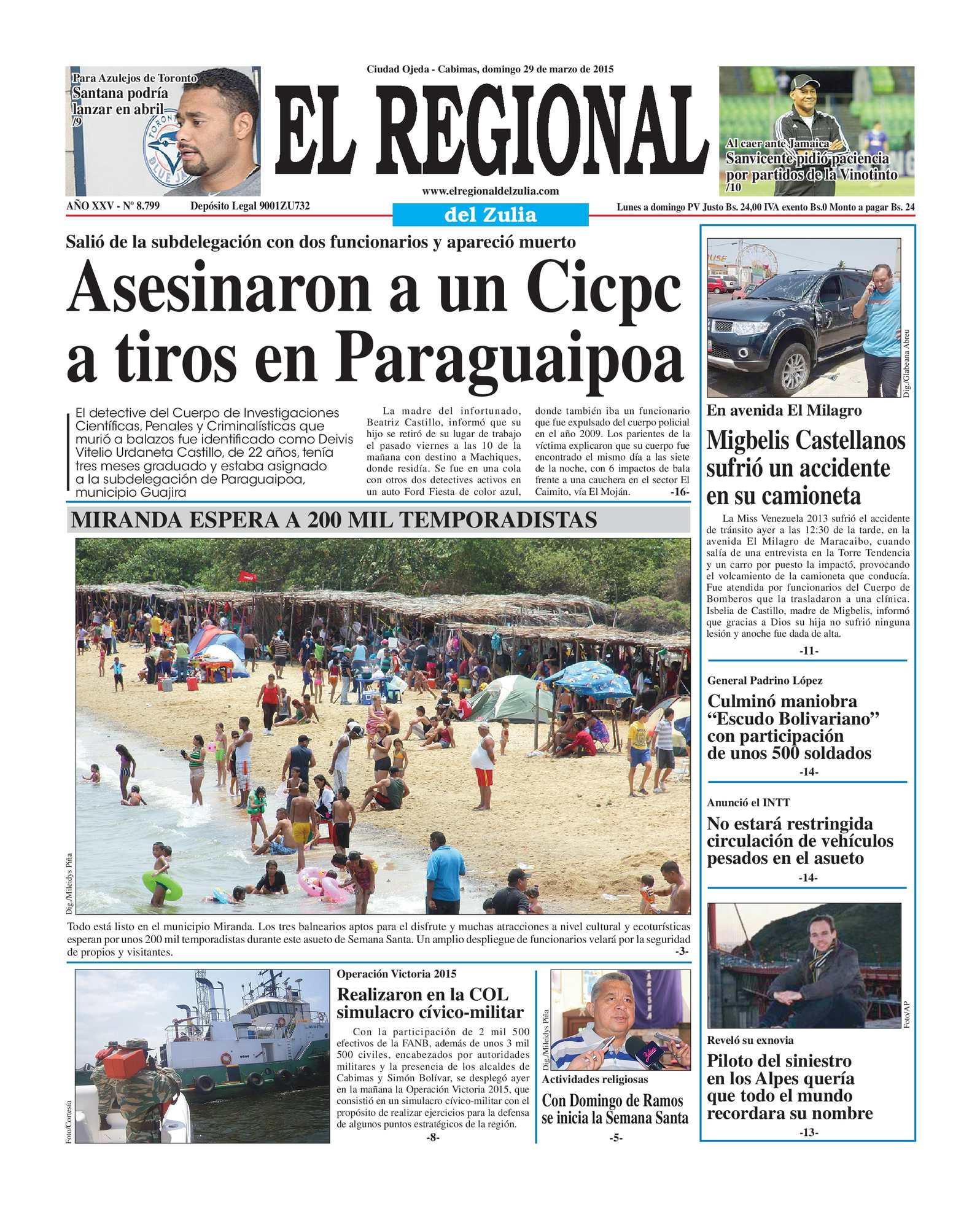 Calaméo - El Regional del Zulia 29-03-2015