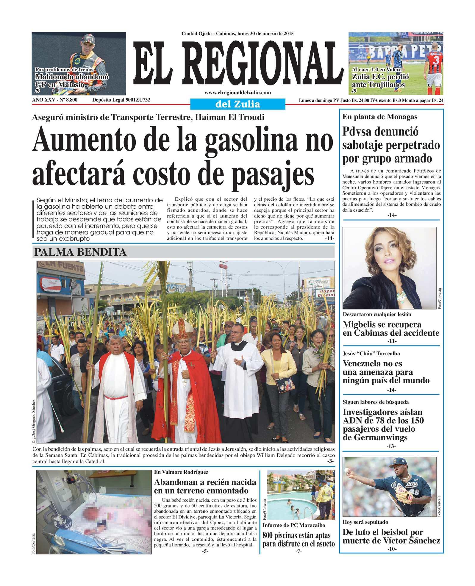 Calaméo - El Regional del Zulia 30-03-2015