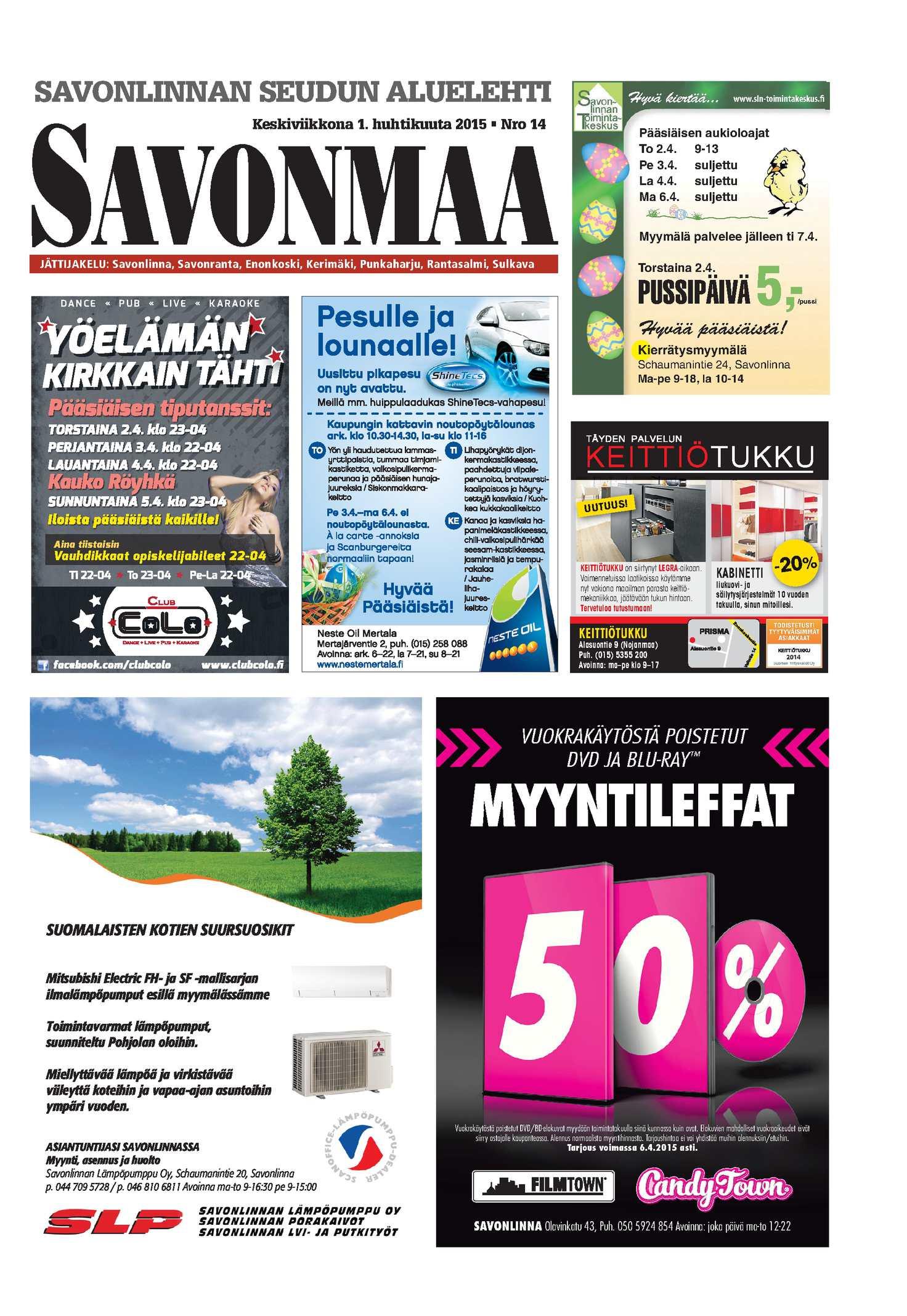 Calaméo - Savonmaa 14 1.4.2015 0a20031240