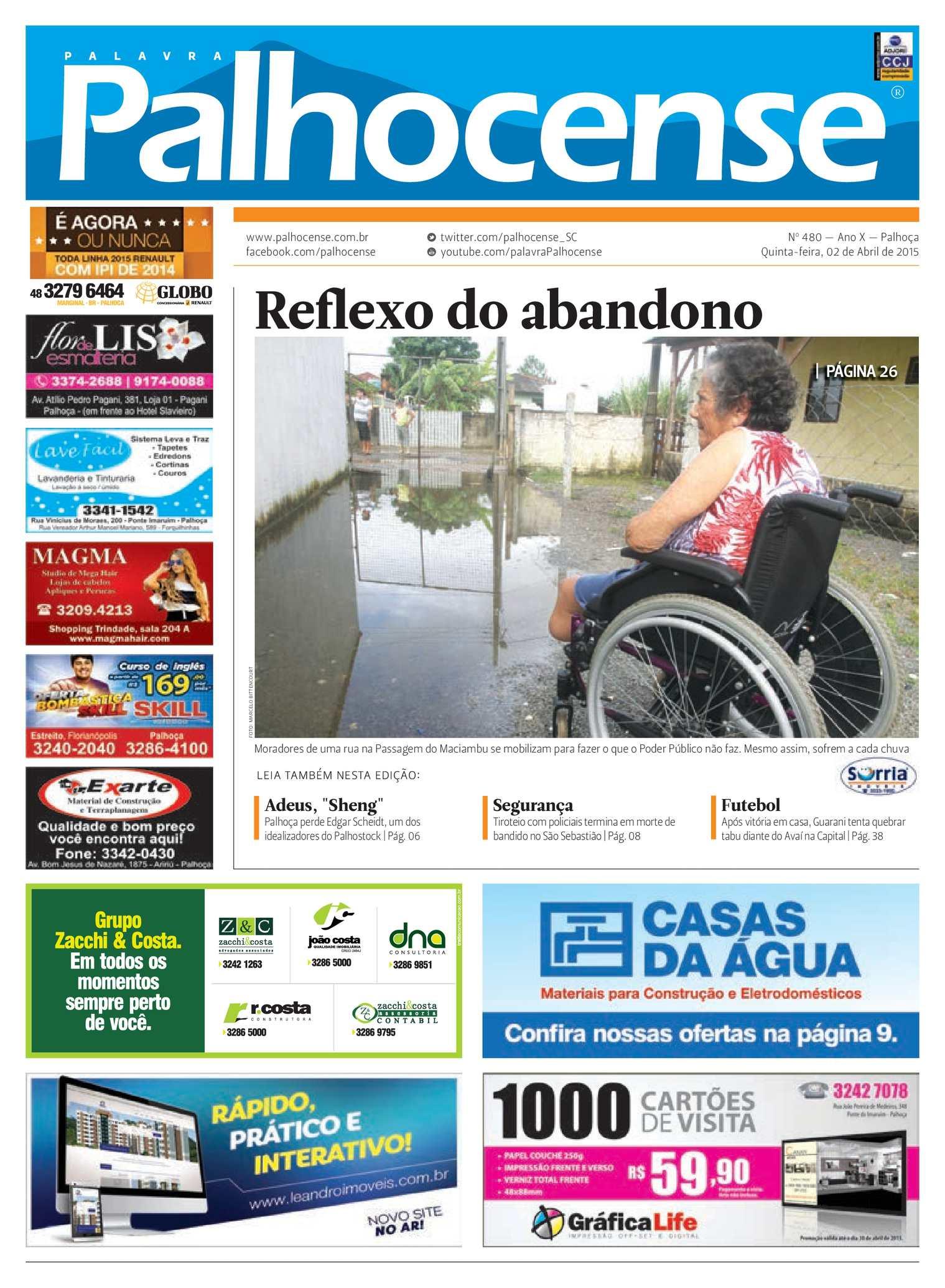 Calaméo - Jornal Palavra Palhocense - Edição 480 88c06d526bdb3