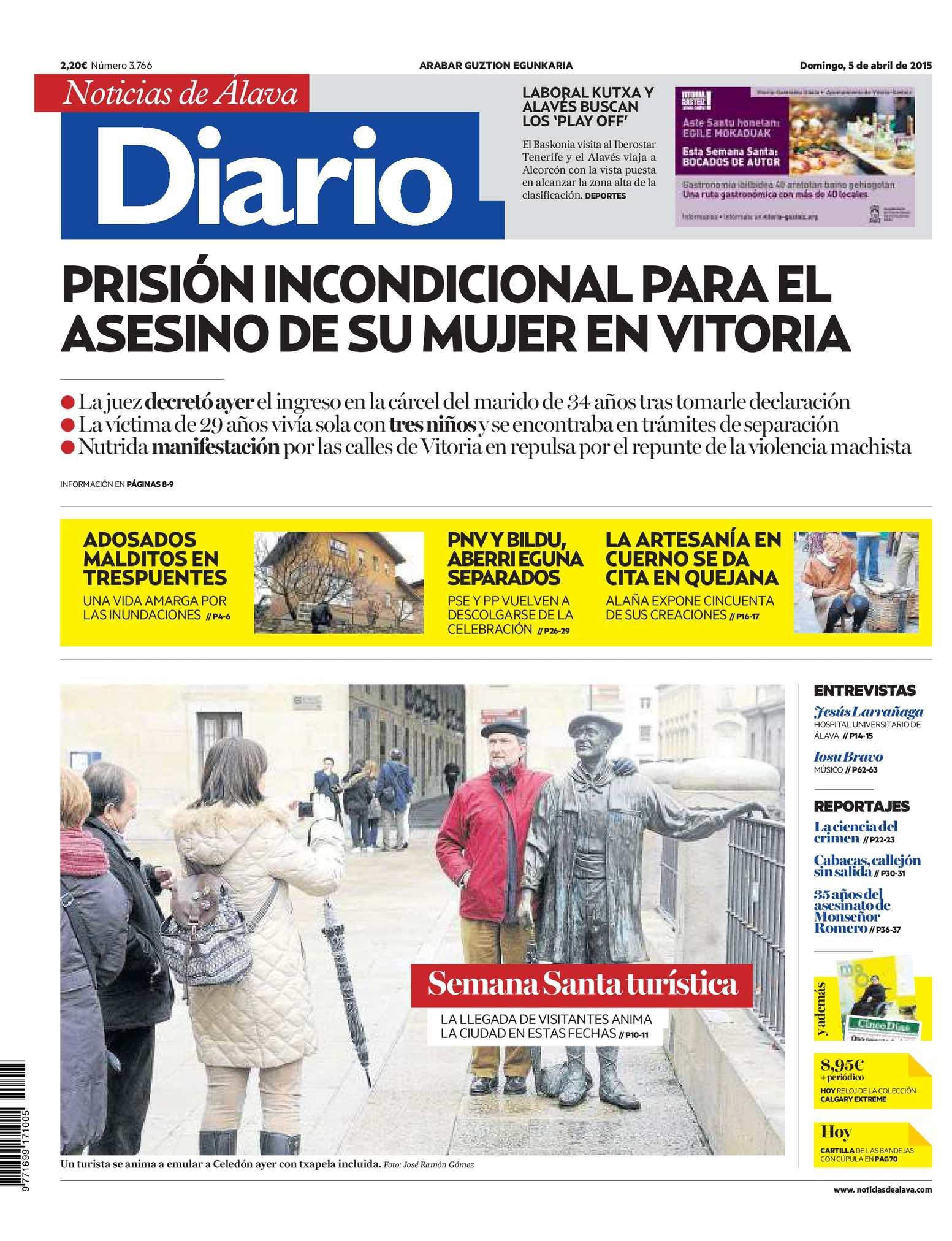 new style 8040e 8a162 Calaméo - Diario de Noticias de Álava 20150405