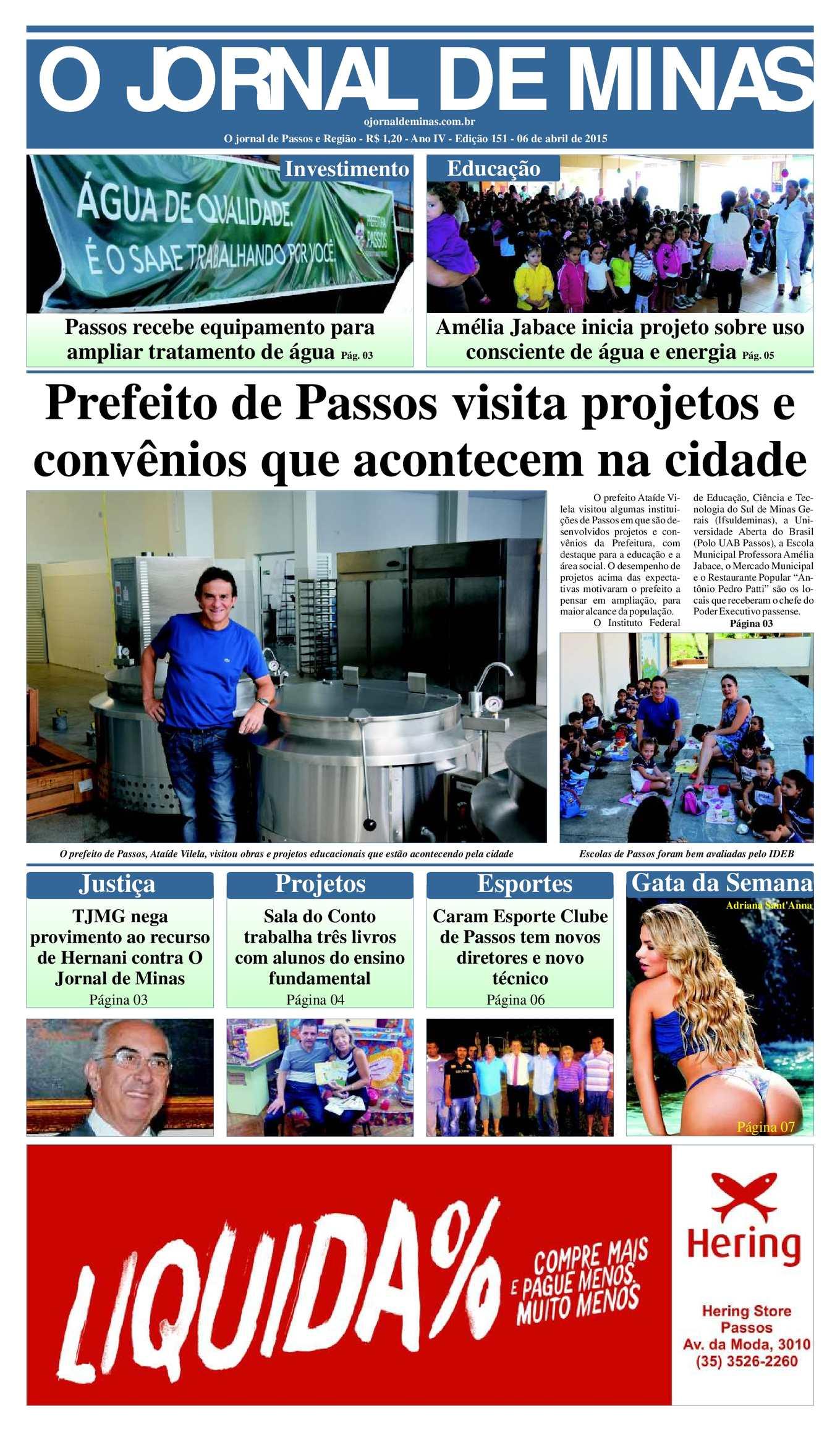 bfc6e7eb1c Calaméo - O Jornal De Minas Edição 151 De 06 De Abril De 2015