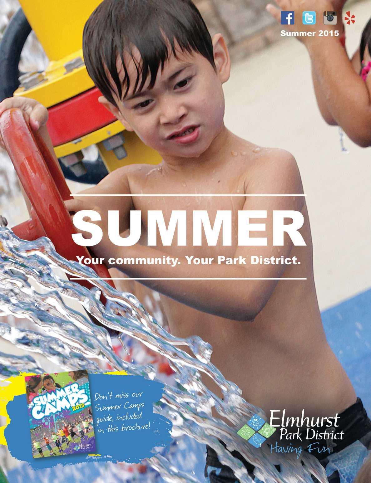 609002f40db89 Calaméo - Elmhurst Park District Summer 2015 Program Guide