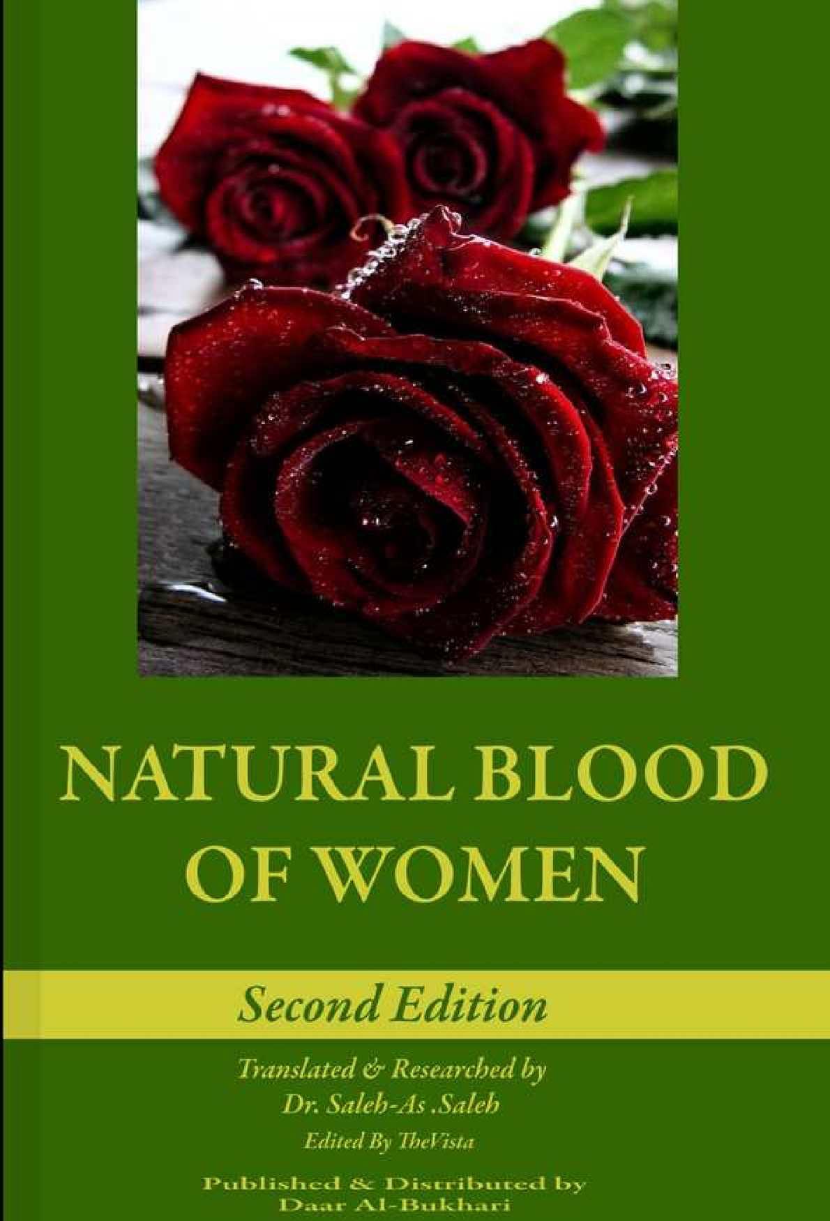 Calaméo - Saalih As Saalih - Natural Blood Of Women