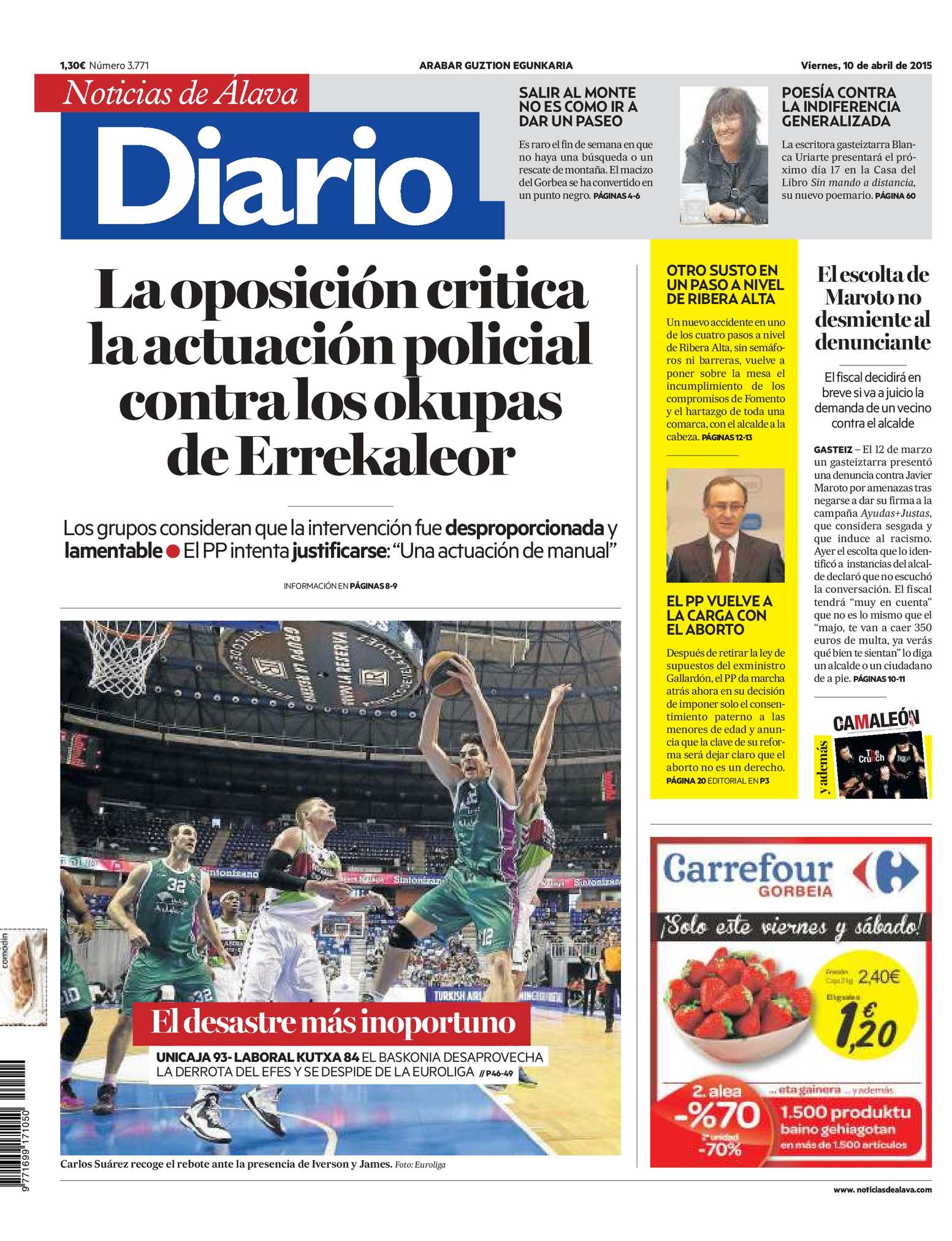 Calameo Diario De Noticias De Alava 20150410