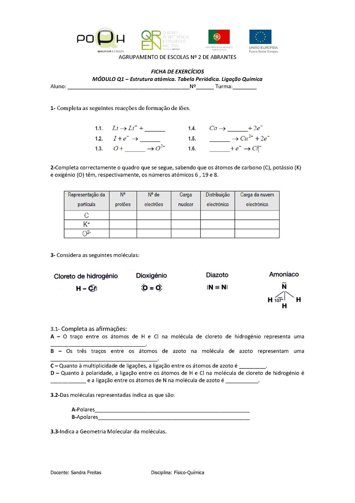 Calaméo Ficah Exerc Q1 1