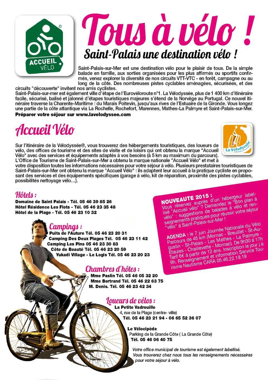 Calameo Plan Velo Saint Palais Sur Mer