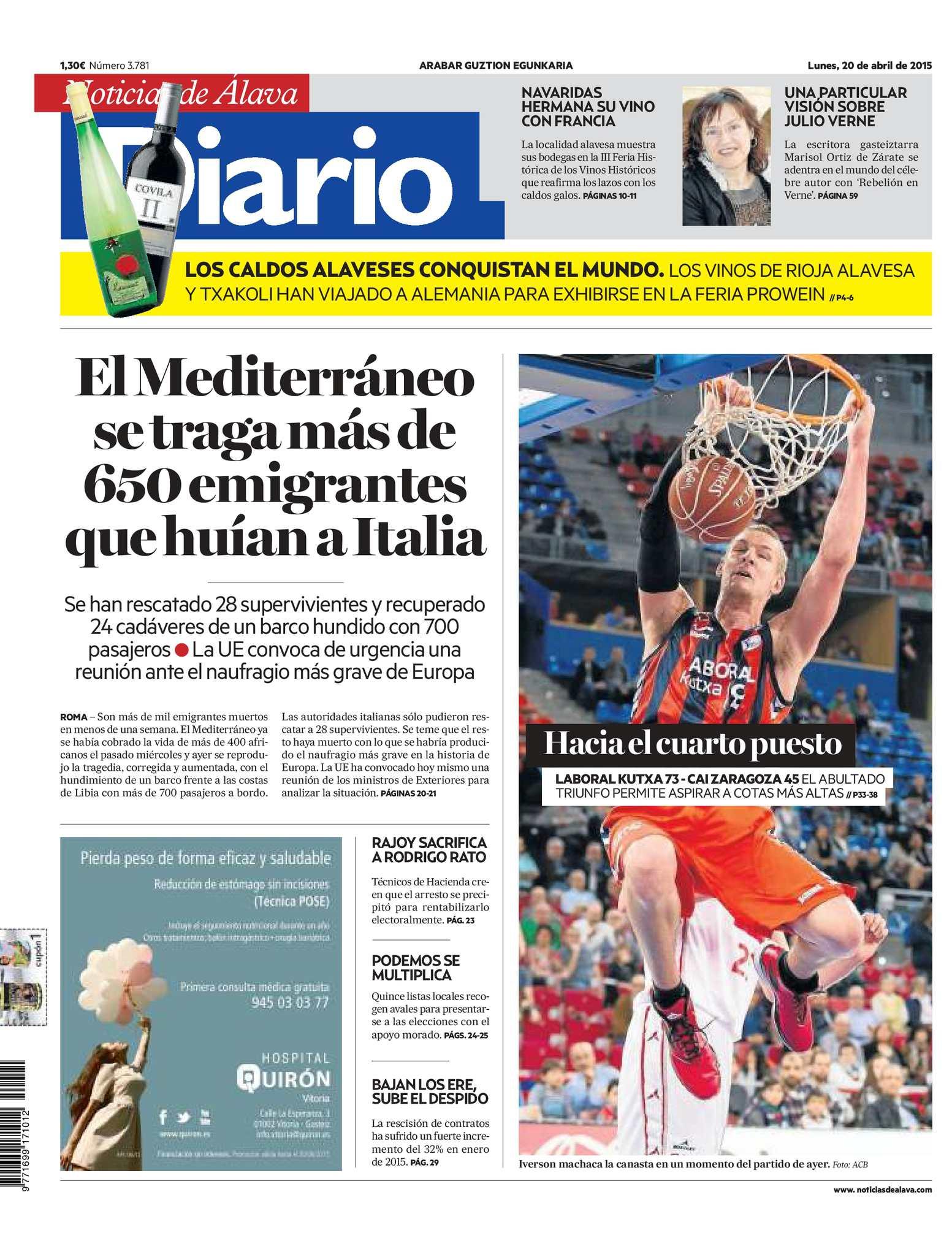 Calameo Diario De Noticias De Alava 20150420