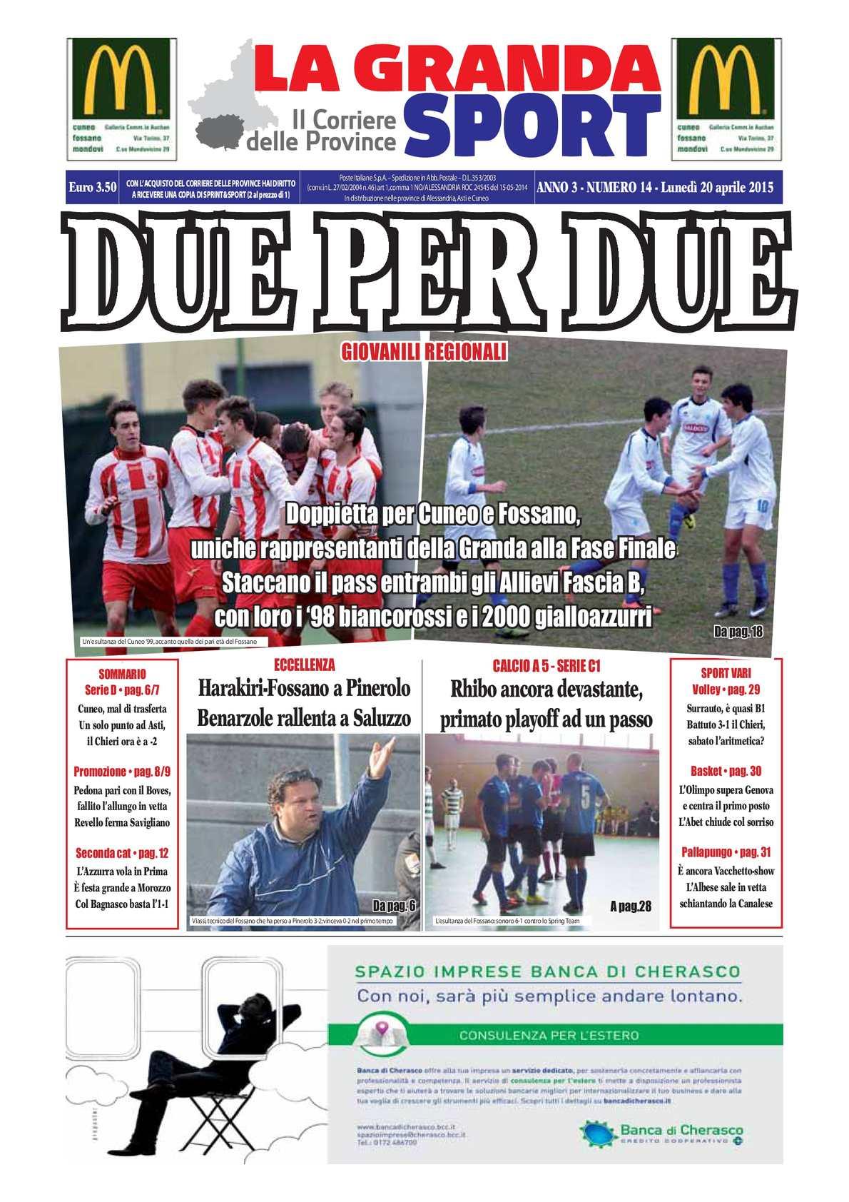 Calaméo 2015 La Granda Sport 14