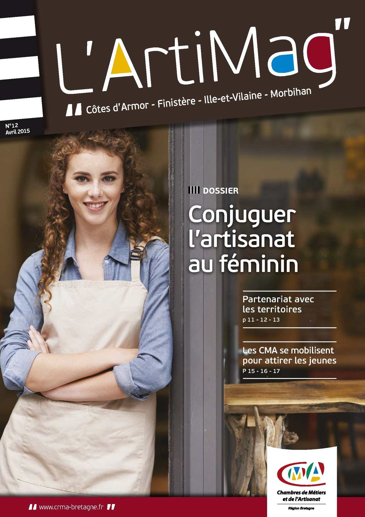 Sophie Pinard La Gacilly calaméo - l'artimag n°12 avril 2015
