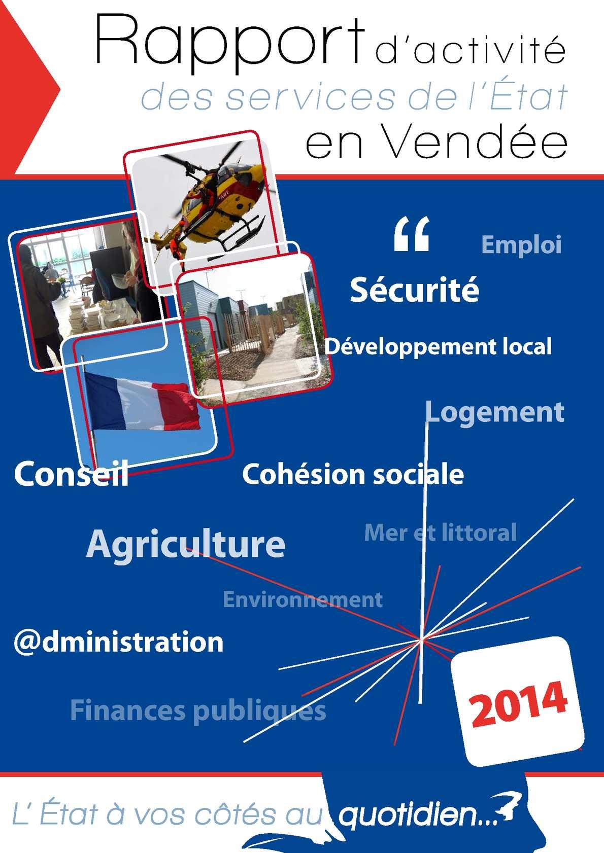 fc0b04372548 Calaméo - Rapport d activité des services de l Etat en Vendée - Année 2014