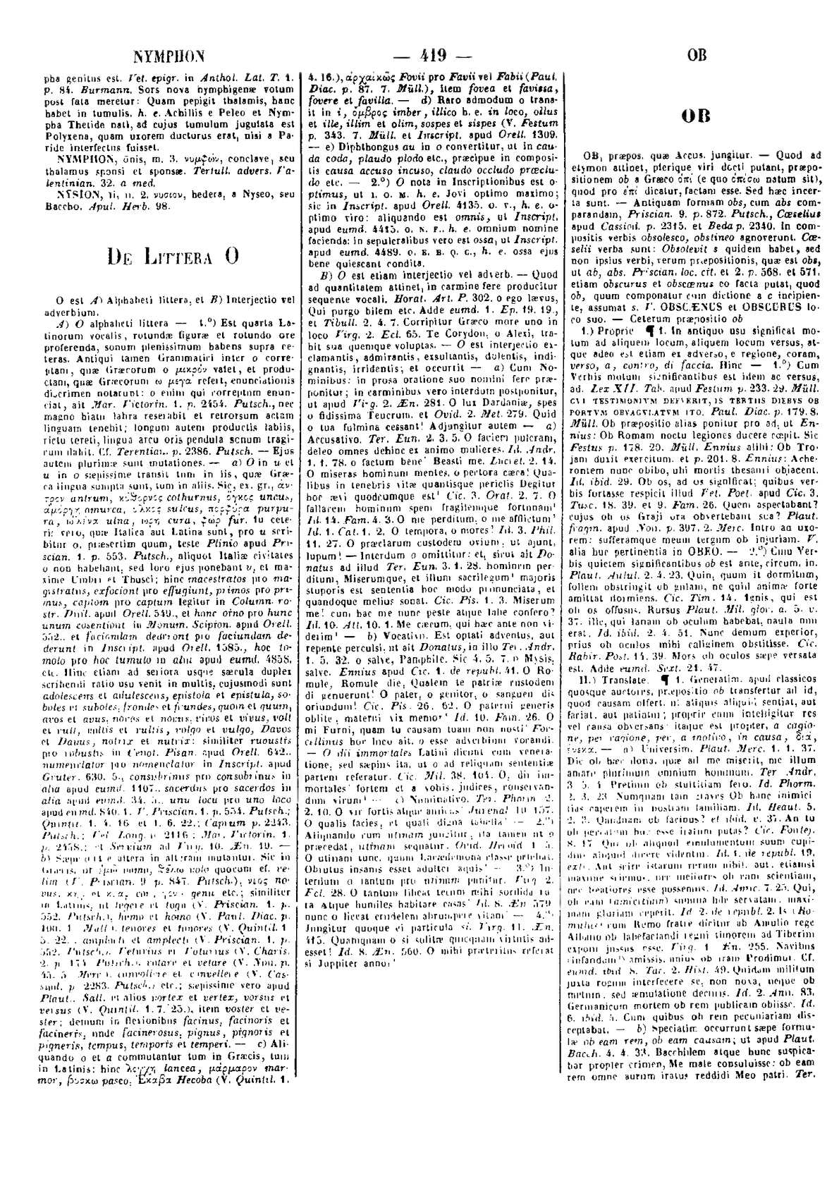 296713e6493806 Calaméo - Lexicon totius latinitatis O Po Forcellini Aegidio, Corradini  Franciscus, Perin Josephus, 1940