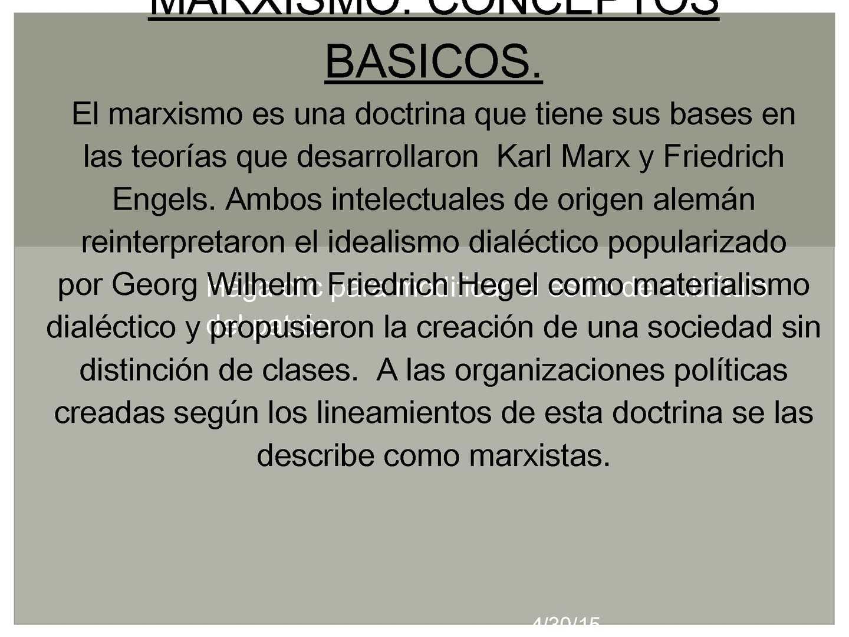 Calaméo Marxismo