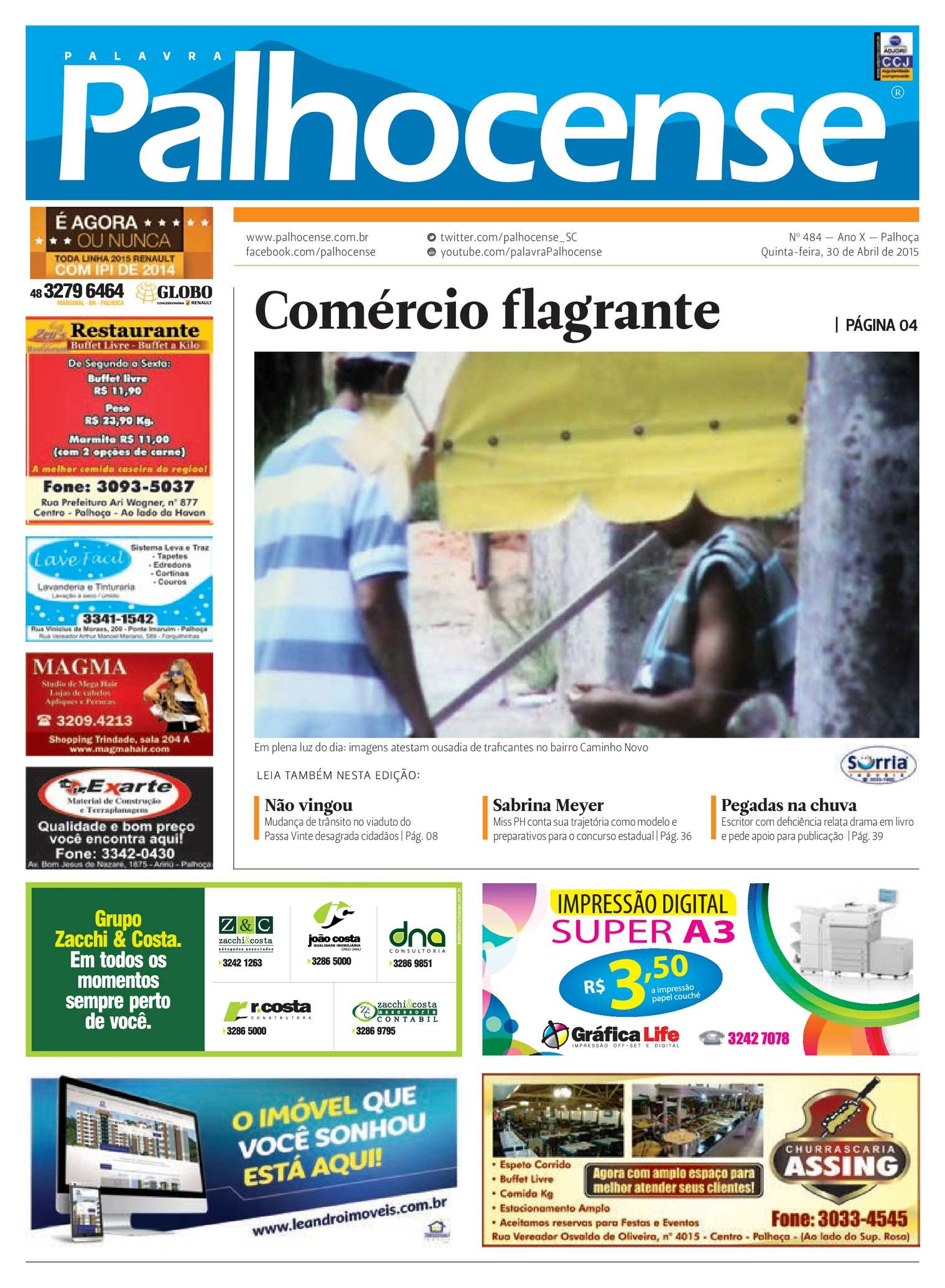 Calaméo - Jornal Palavra Palhocense - Edição 484 a6ee5d789e3e5