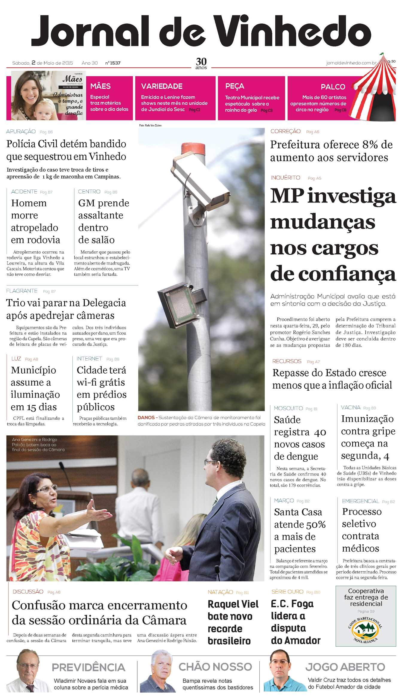 Calaméo - Jornal De Vinhedo Sábado, 2 De Maio De 2015 Edic 1537 c2211e5fb4
