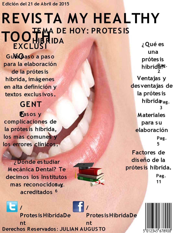 Calaméo Revista Protesis Hibrida