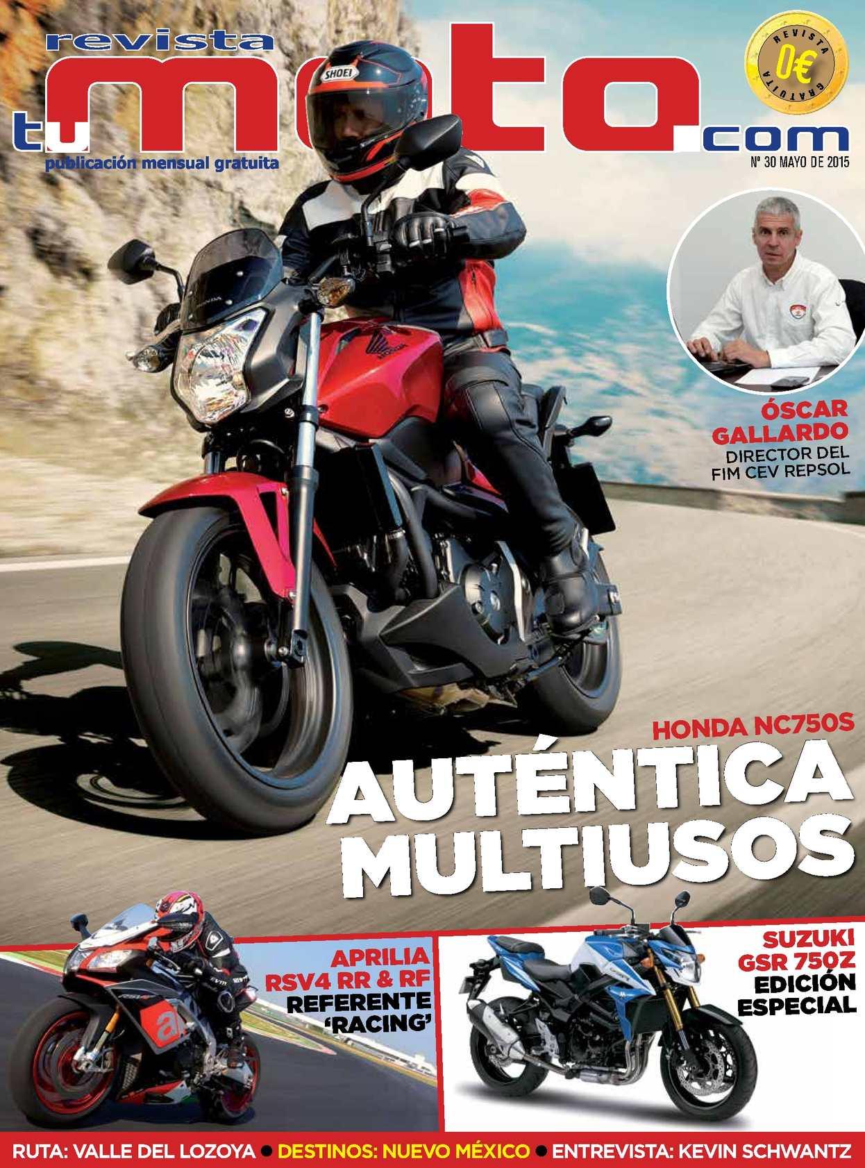 37dec377f46 Calaméo - Revista Tu Moto 30