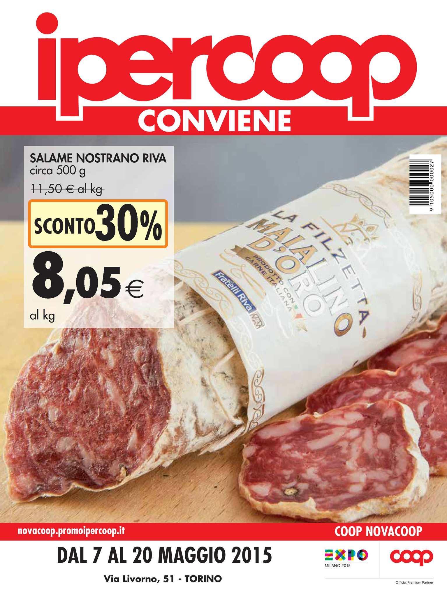 Al Calaméo Iper Coop Piemonte 20 Dal 7 Maggio Volantino srBohxdtQC